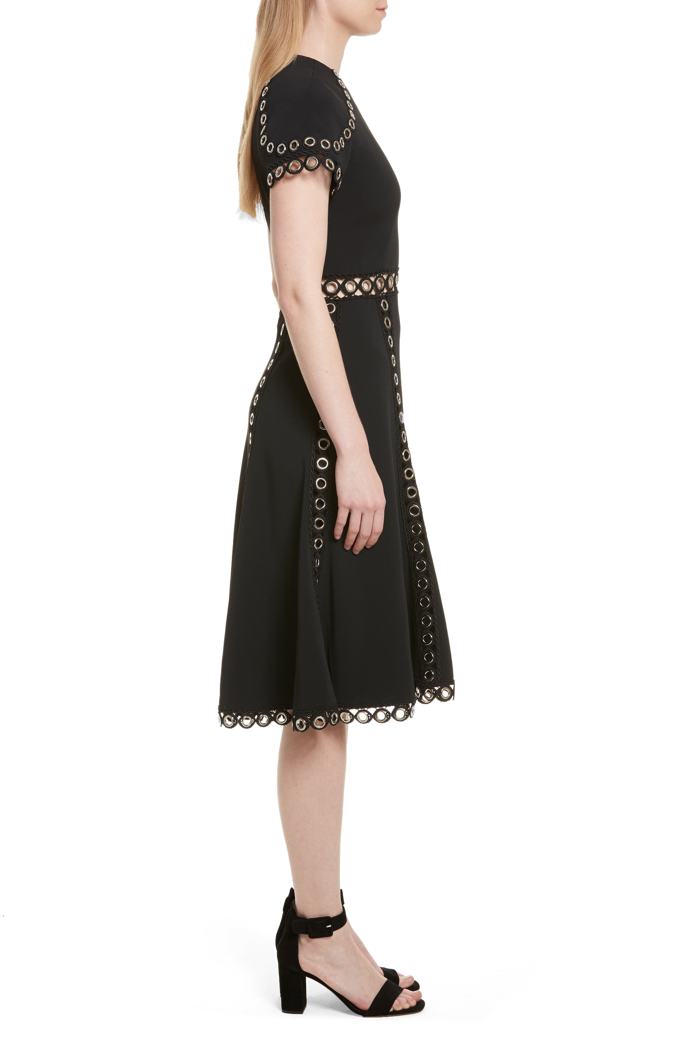 Alternate Image 3  - Jonathan Simkhai Grommet Fit & Flare Dress