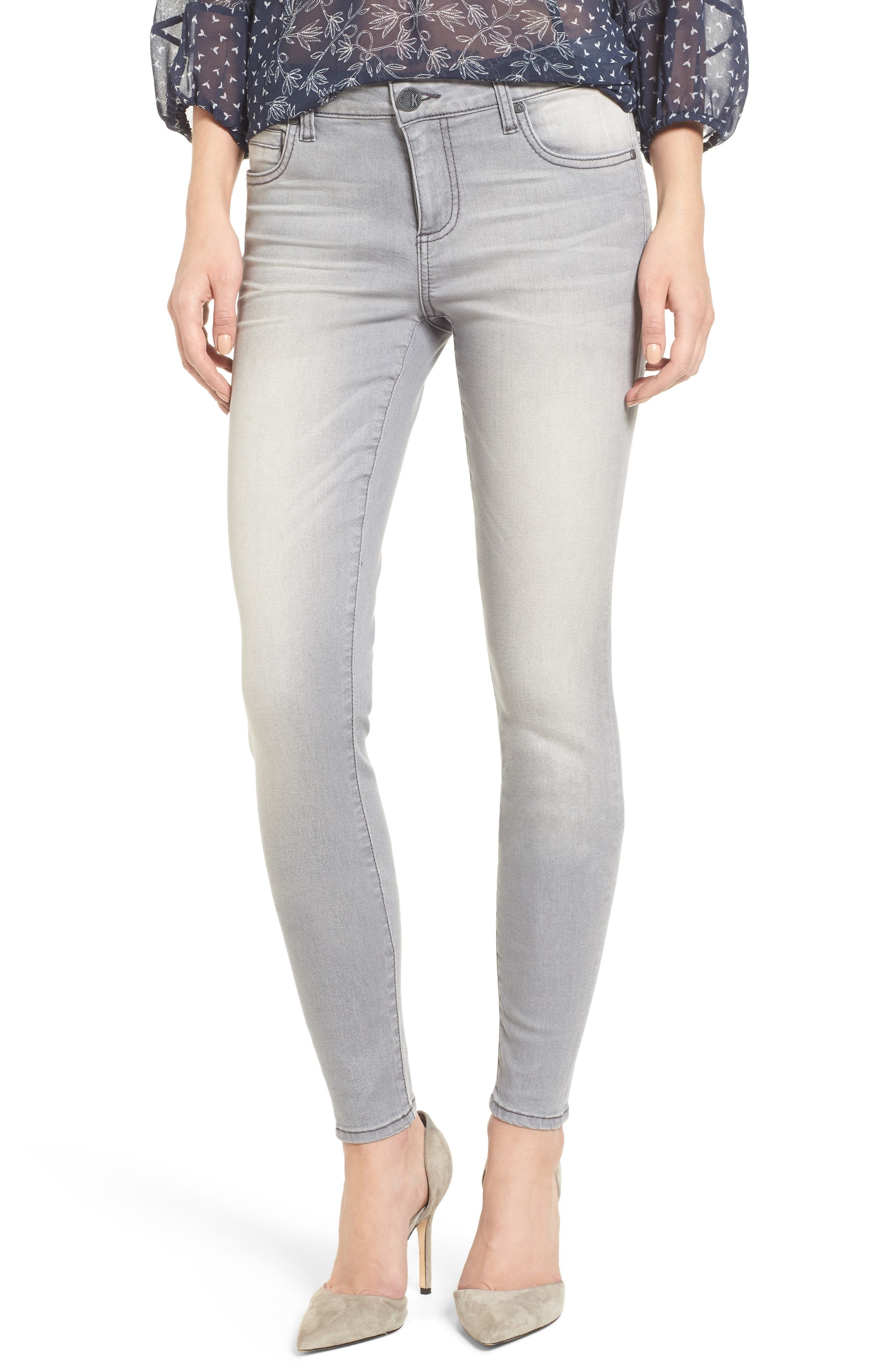 Alternate Image 1 Selected - Kut from the Kloth Mia Skinny Jeans (Prevailed)
