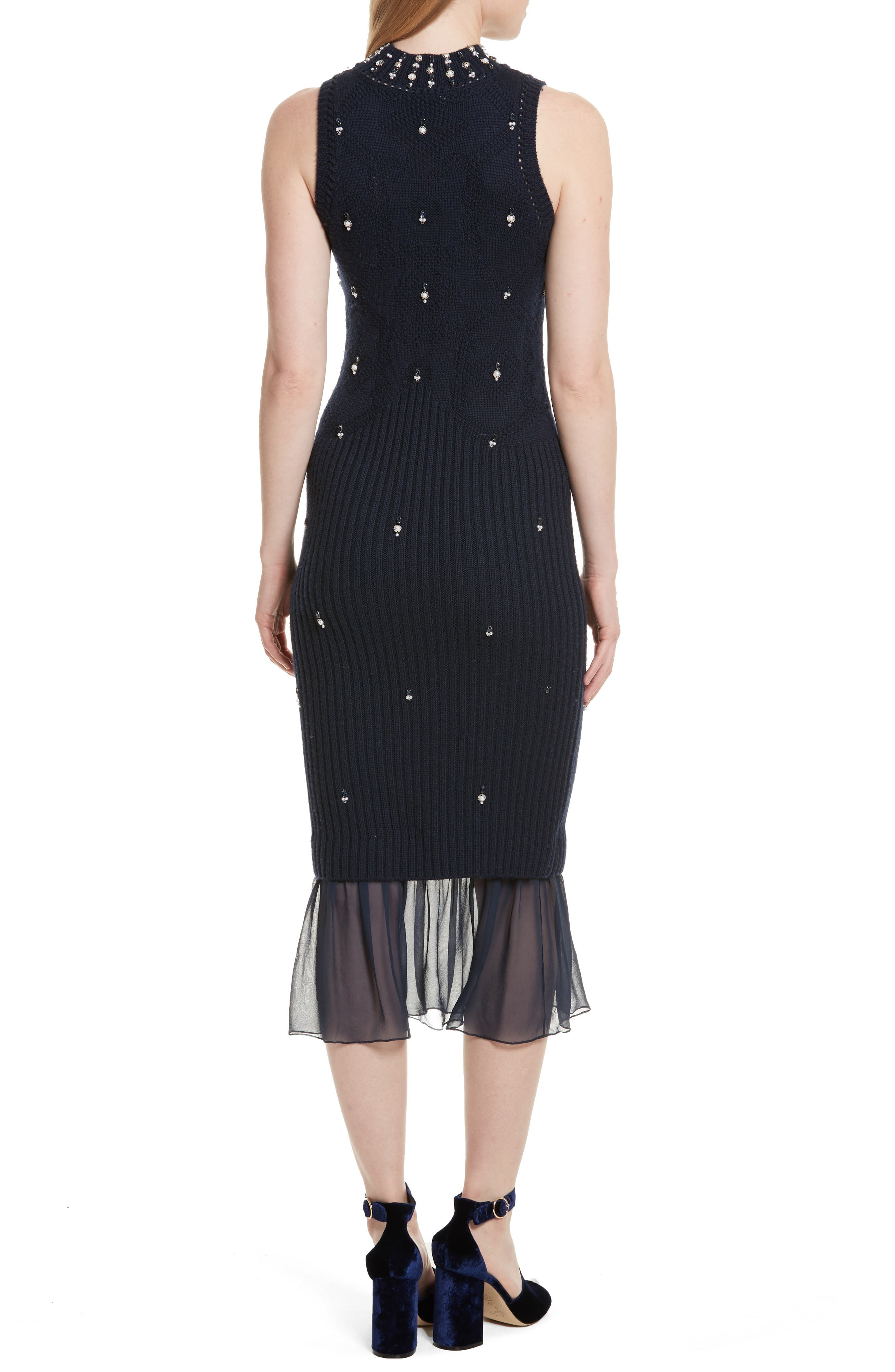 Alternate Image 2  - Jonathan Simkhai Matador Embellished Sweater Dress