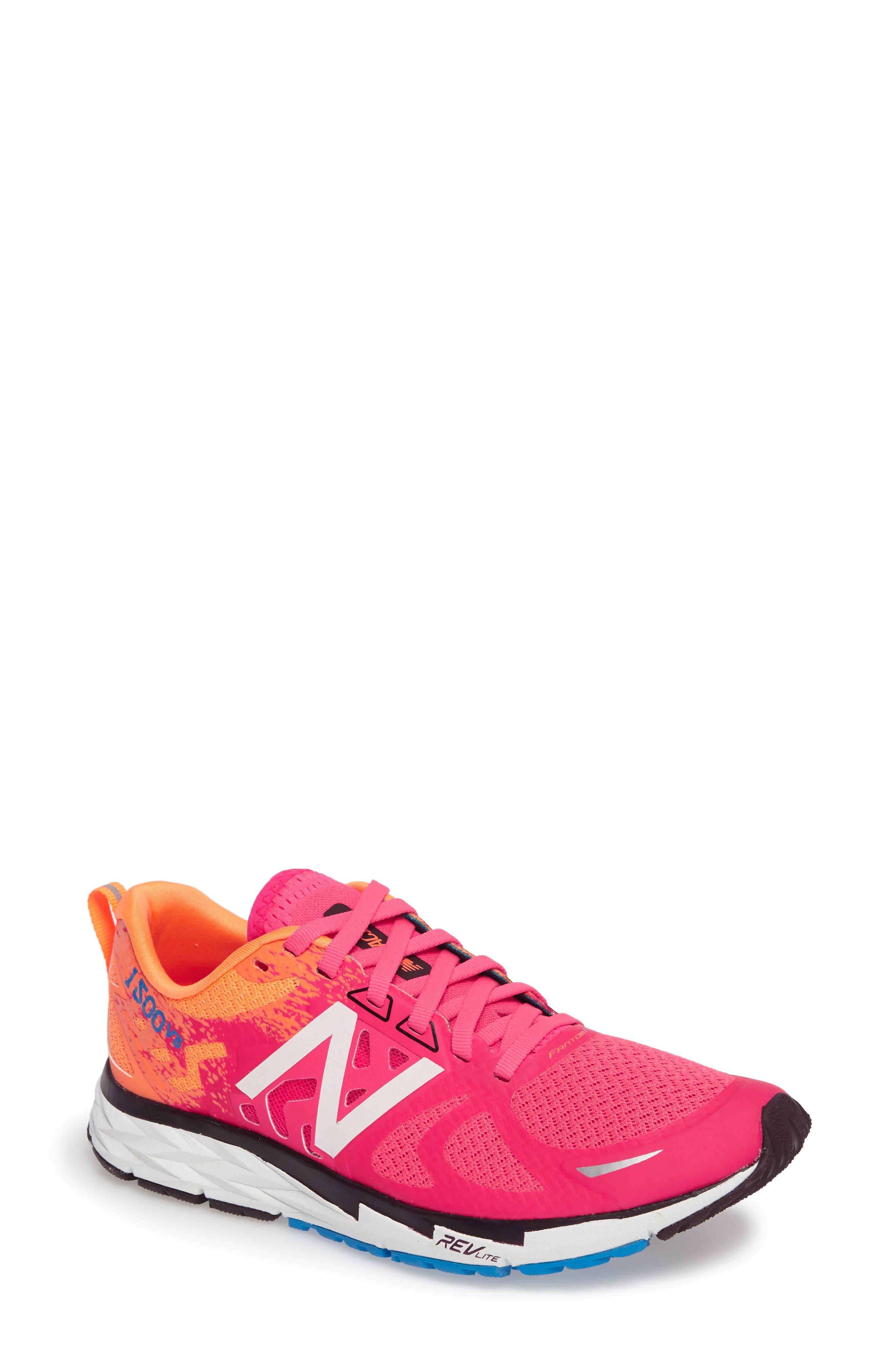 '1500' Running Shoe,                             Main thumbnail 1, color,                             Alpha Pink