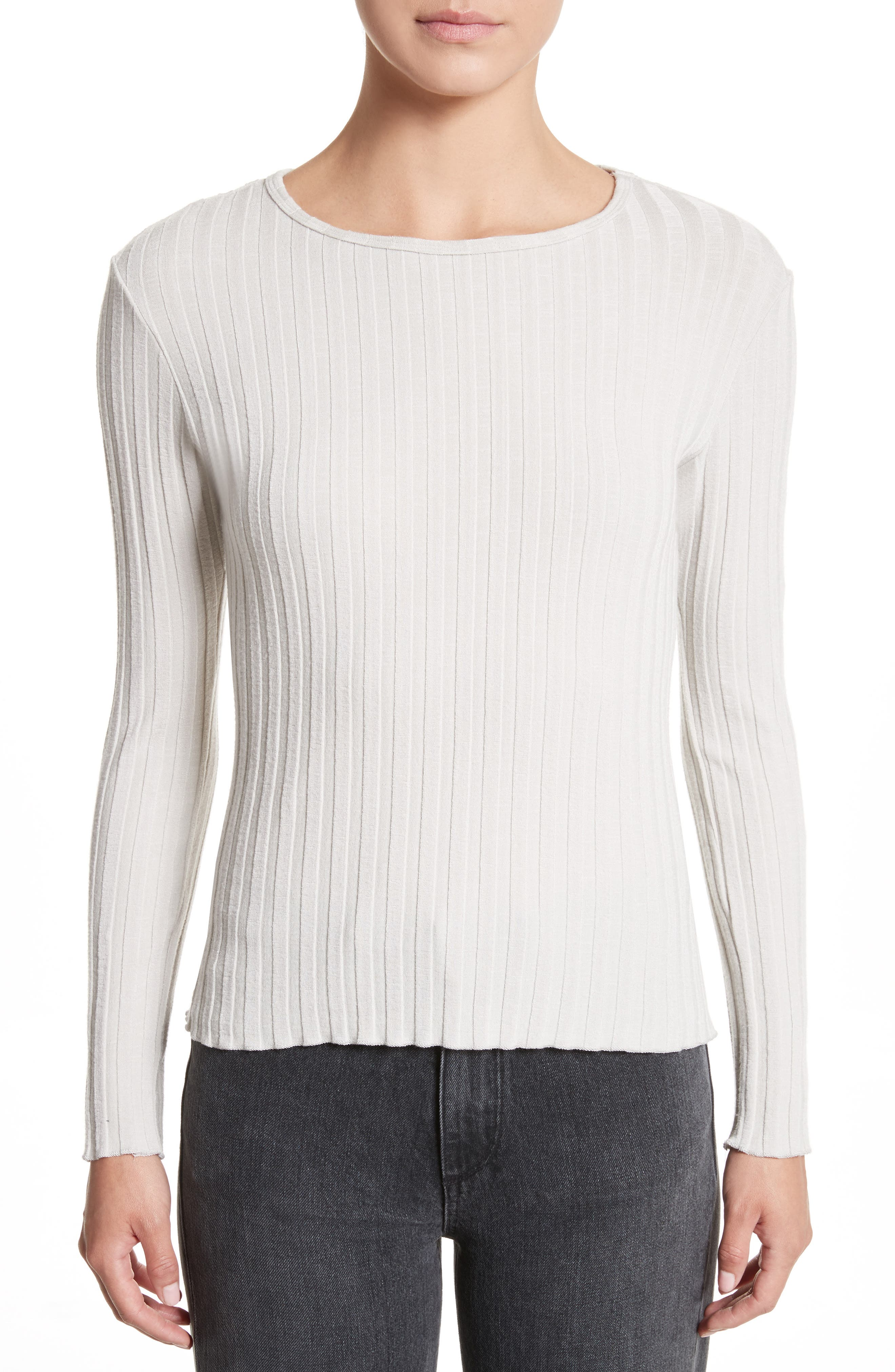 Alternate Image 1 Selected - Simon Miller Devola Rib Knit Tee
