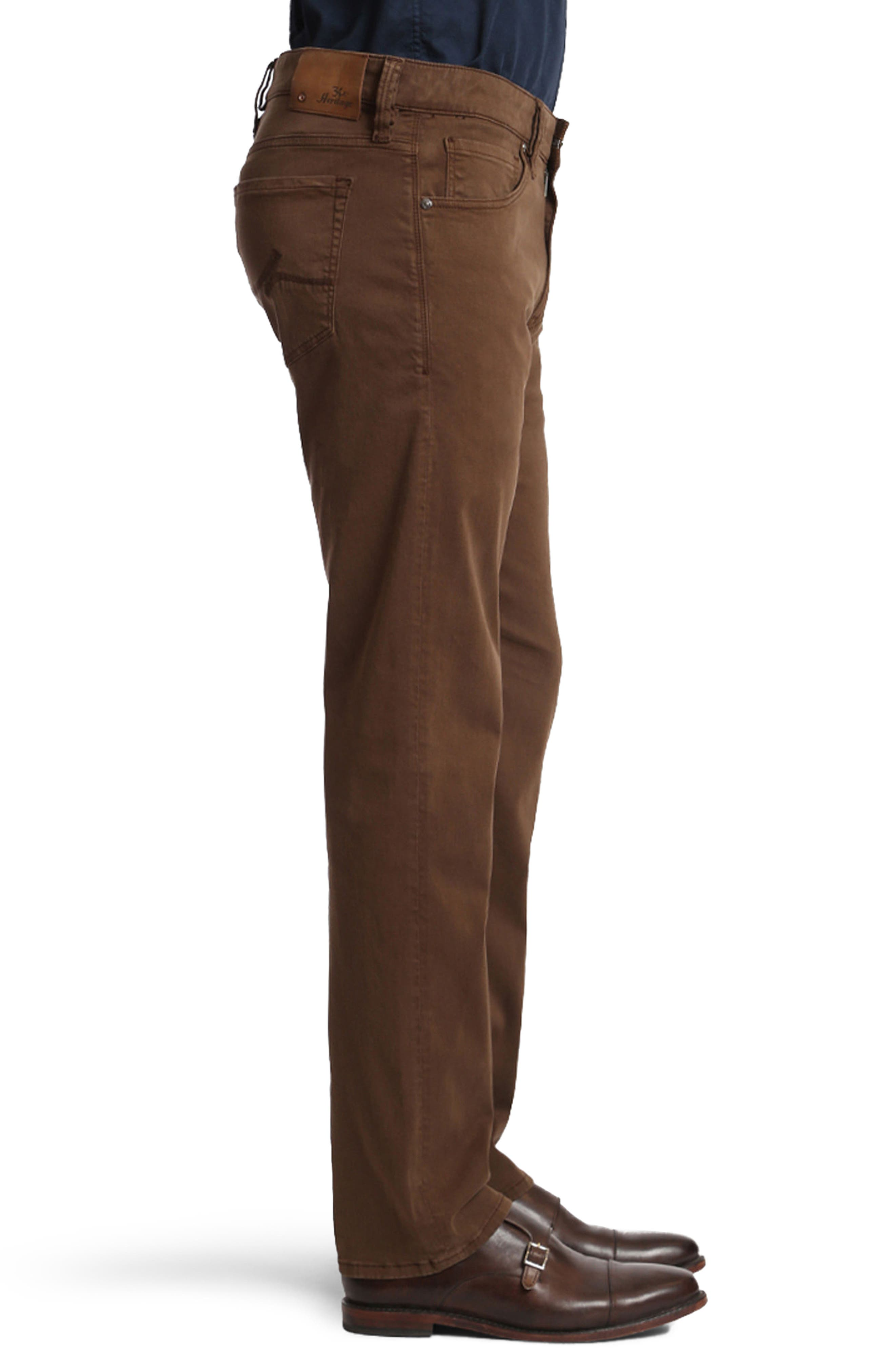 Alternate Image 3  - 34 Heritage Courage Straight Leg Twill Pants