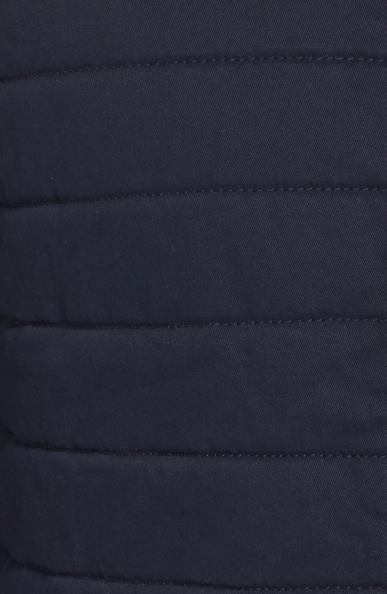 Quilted Twill Vest,                             Alternate thumbnail 5, color,                             Navy Night