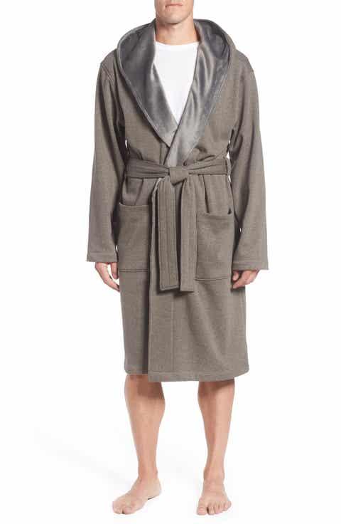 Mens Robes Silk Velour Terry Cloth Nordstrom - Bathroom robes
