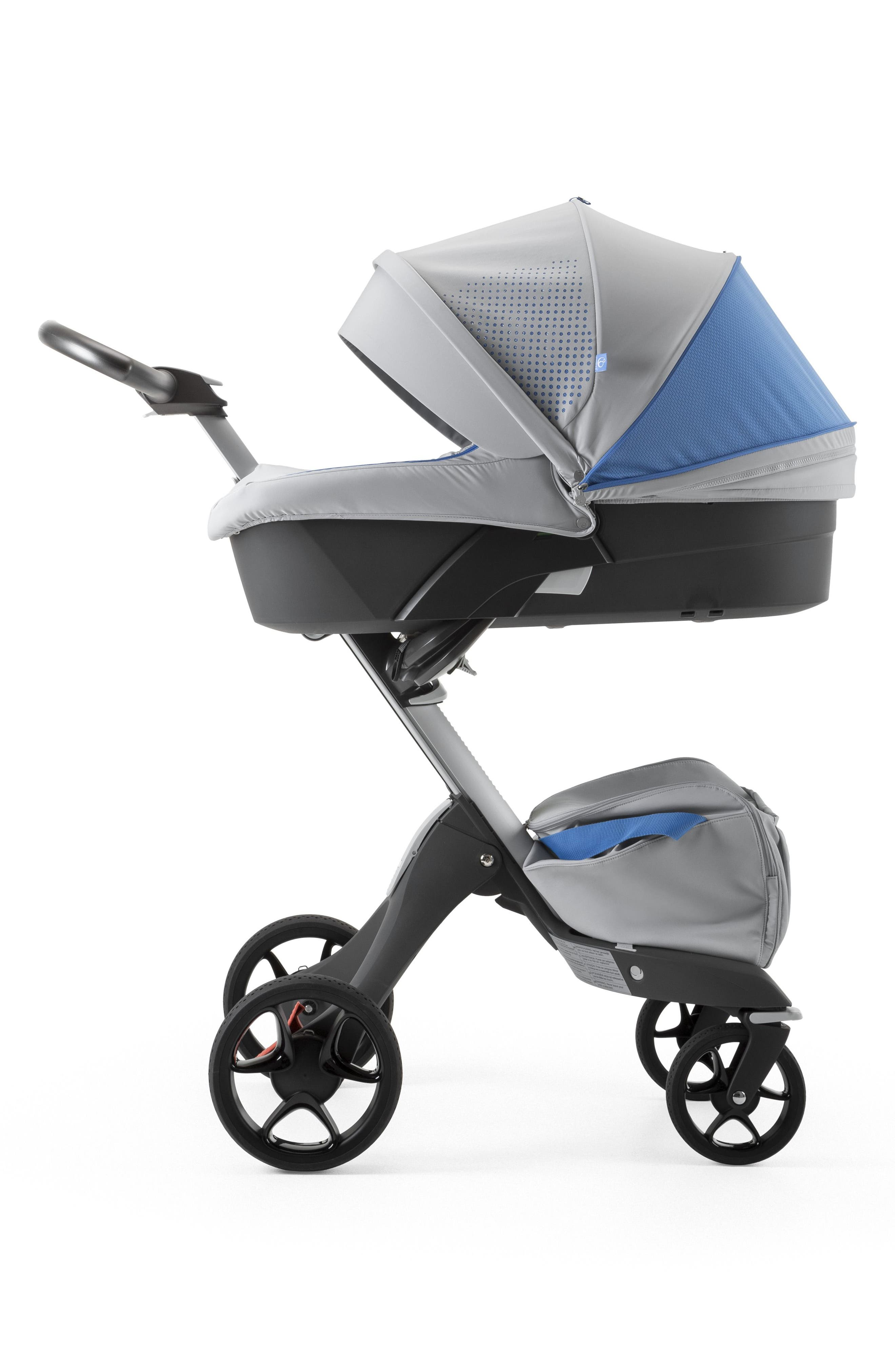 Xplory<sup>®</sup> Athleisure Stroller Carry Cot Attachment,                             Alternate thumbnail 2, color,                             Marina