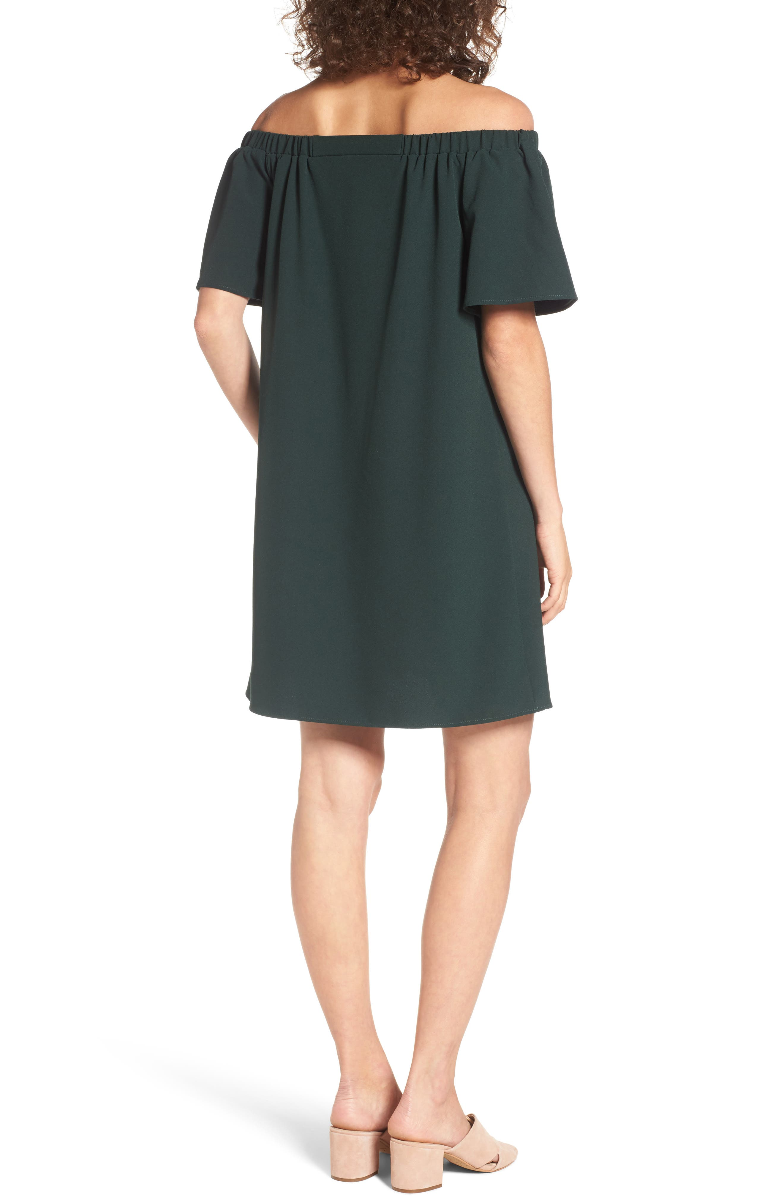 Alternate Image 2  - BP. Off the Shoulder Shift Dress