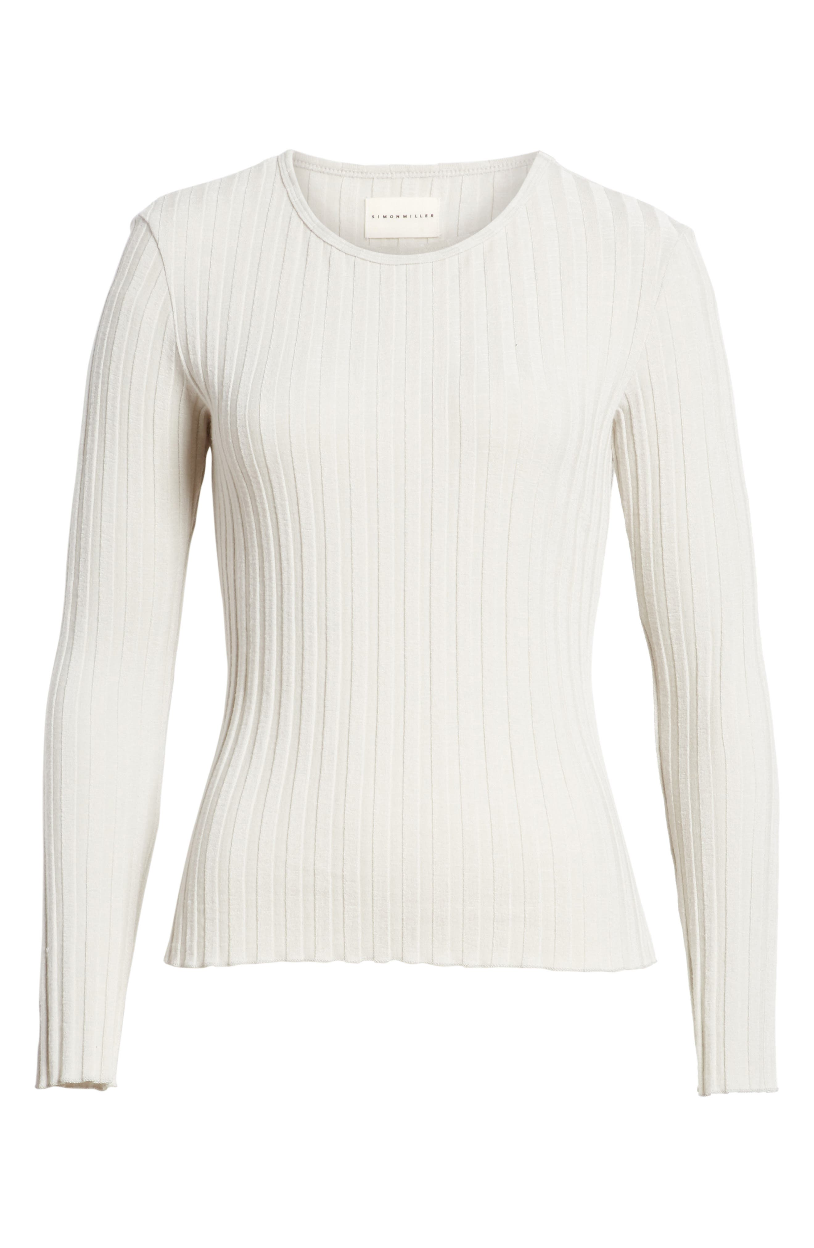 Alternate Image 4  - Simon Miller Devola Rib Knit Tee