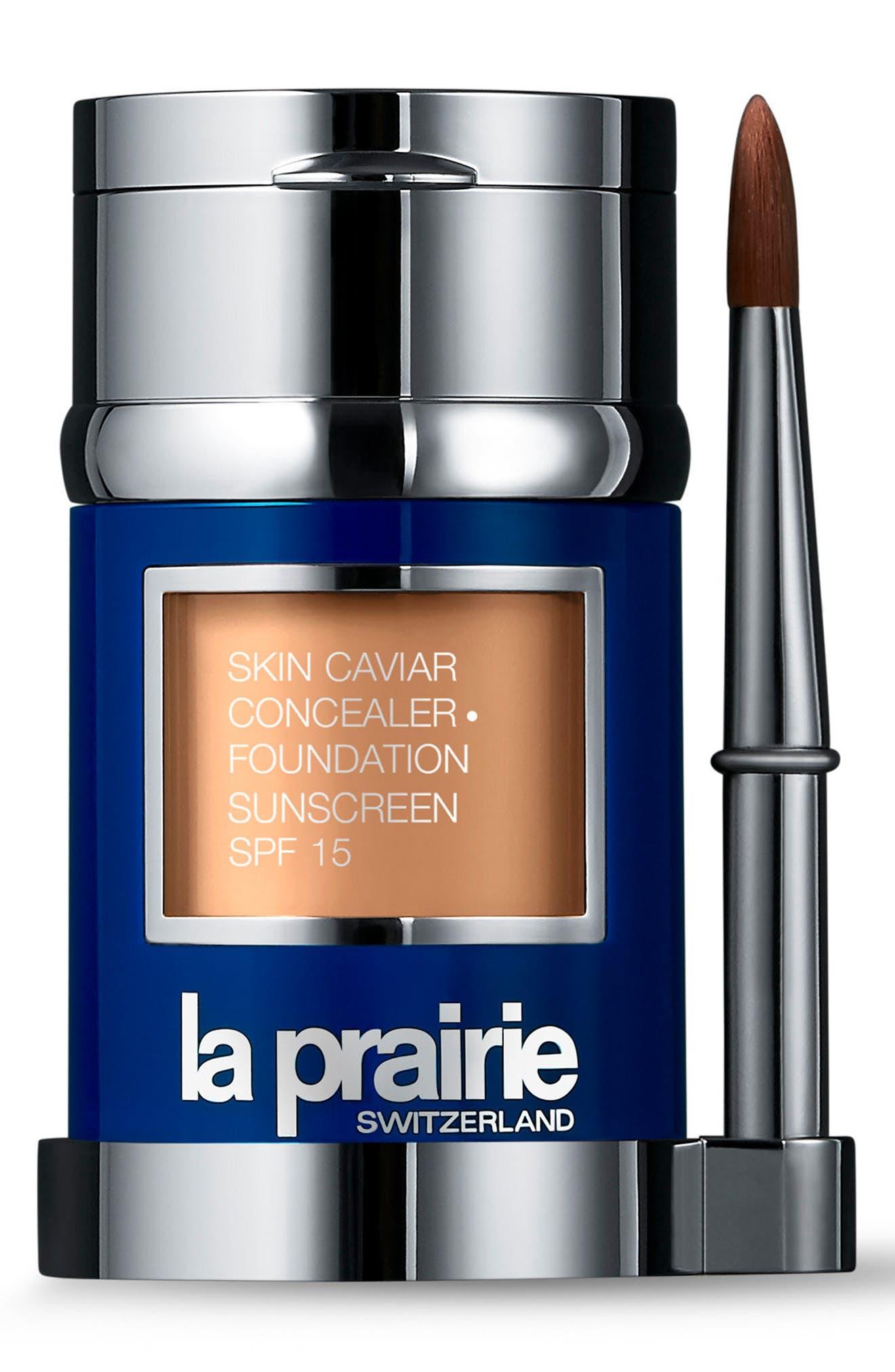 Skin Caviar Concealer + Foundation Sunscreen SPF 15,                         Main,                         color, Golden Beige