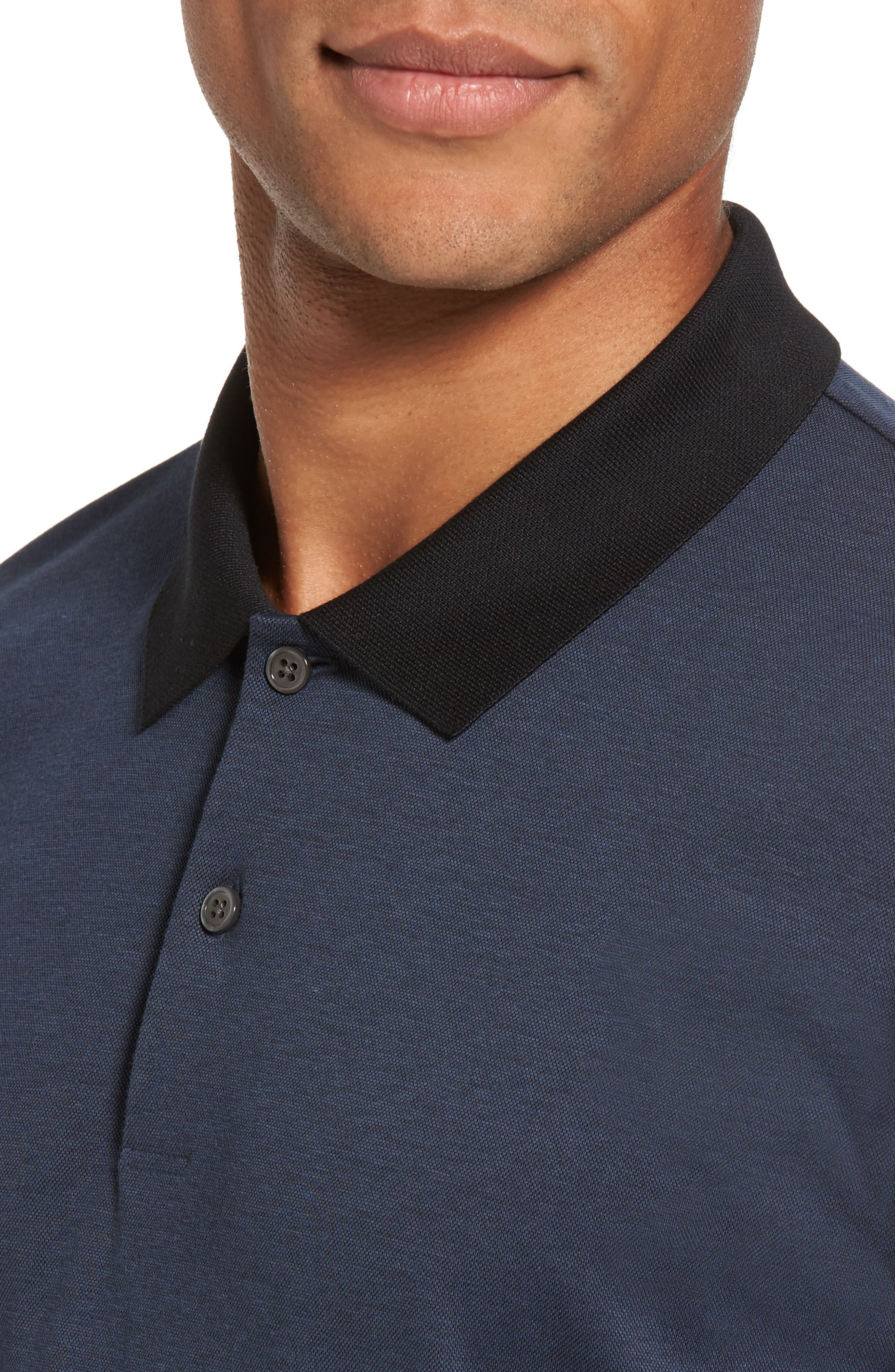 Current Tipped Piqué Polo,                             Alternate thumbnail 4, color,                             River