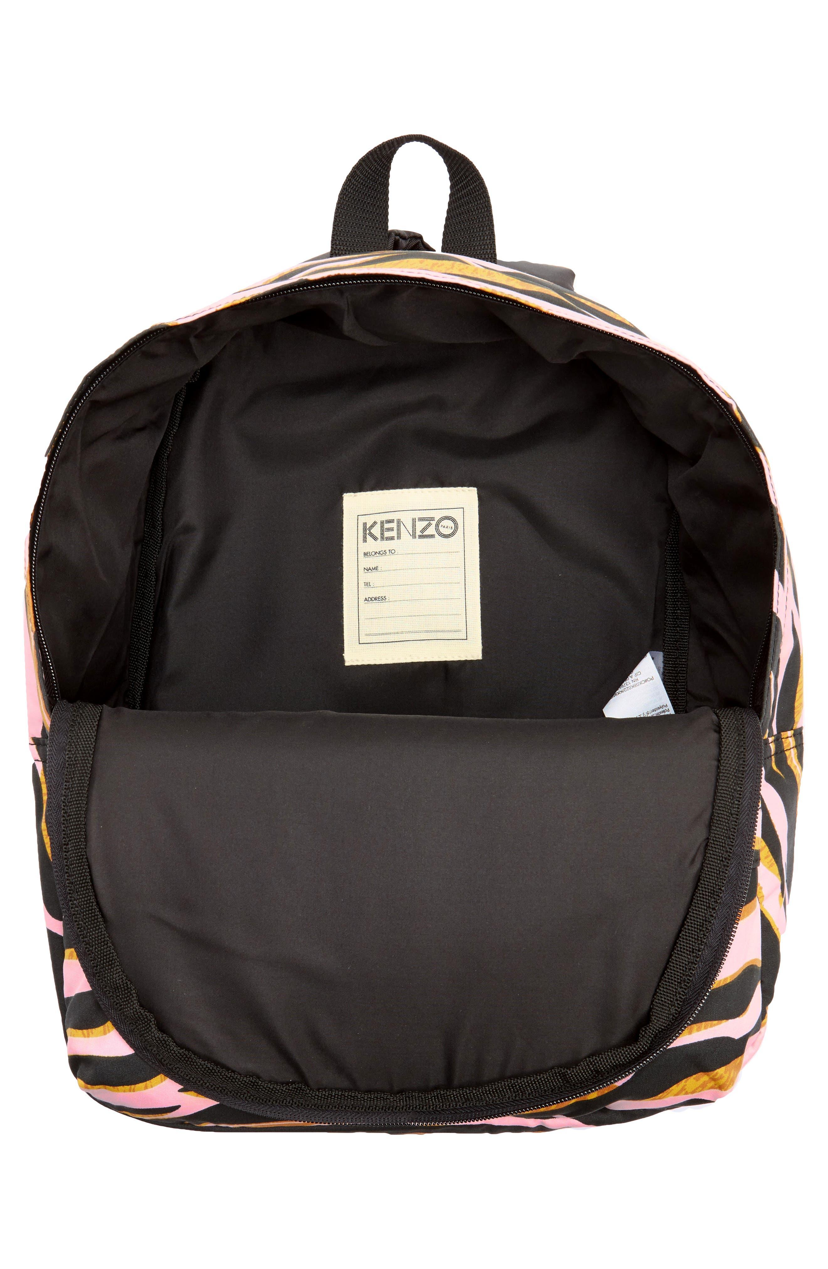 Logo Backpack,                             Alternate thumbnail 3, color,                             Old Pink