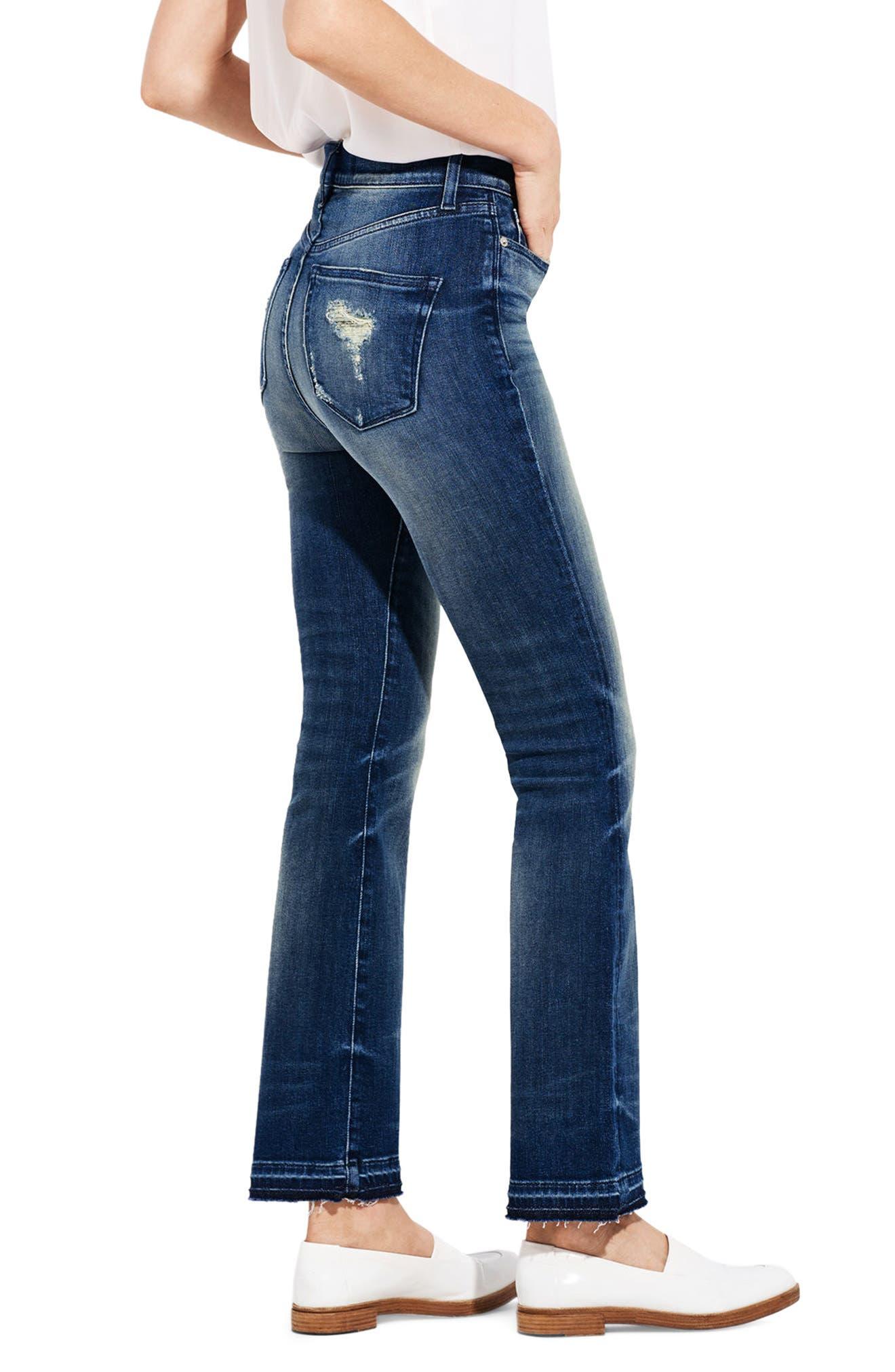 Alternate Image 4  - AYR The Superba Straight Leg Ankle Jeans (Cobra)