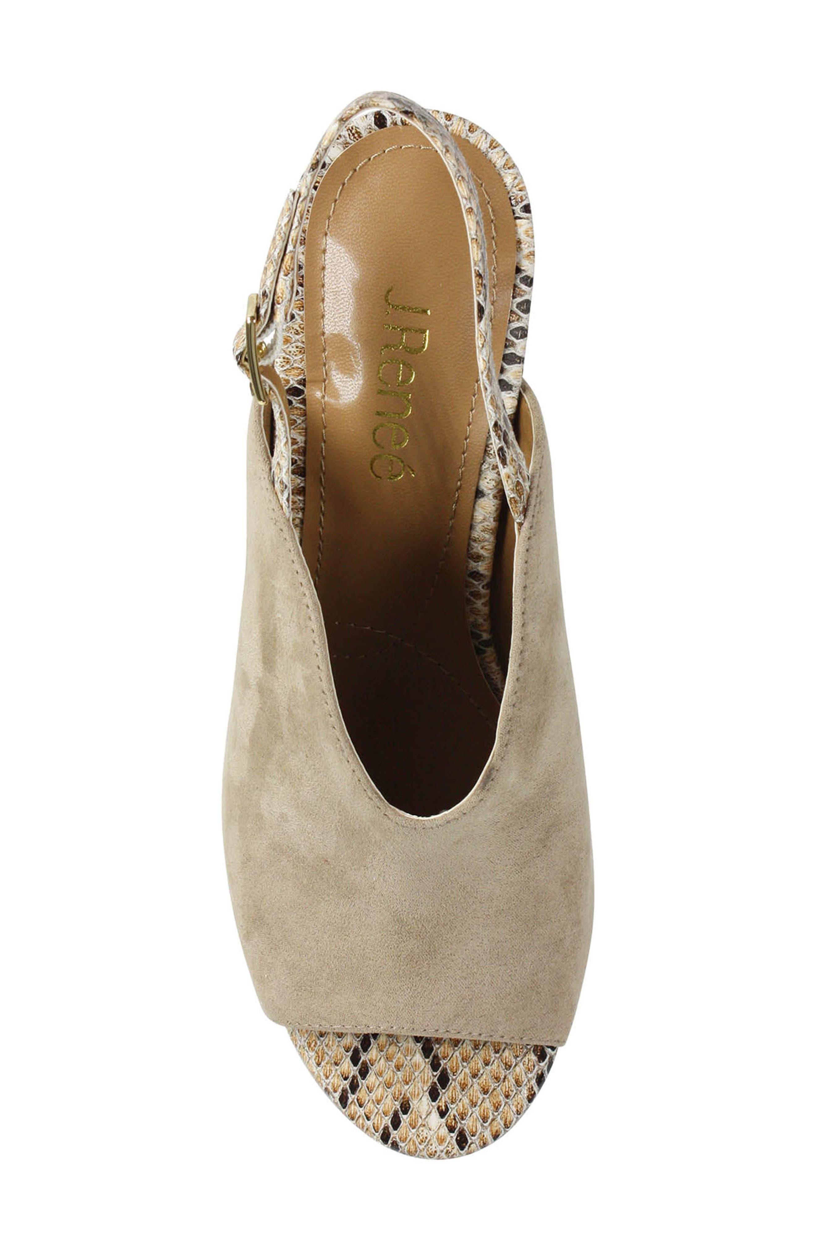 Alternate Image 4  - J. Reneé Maarya Block Heel Sandal (Women)