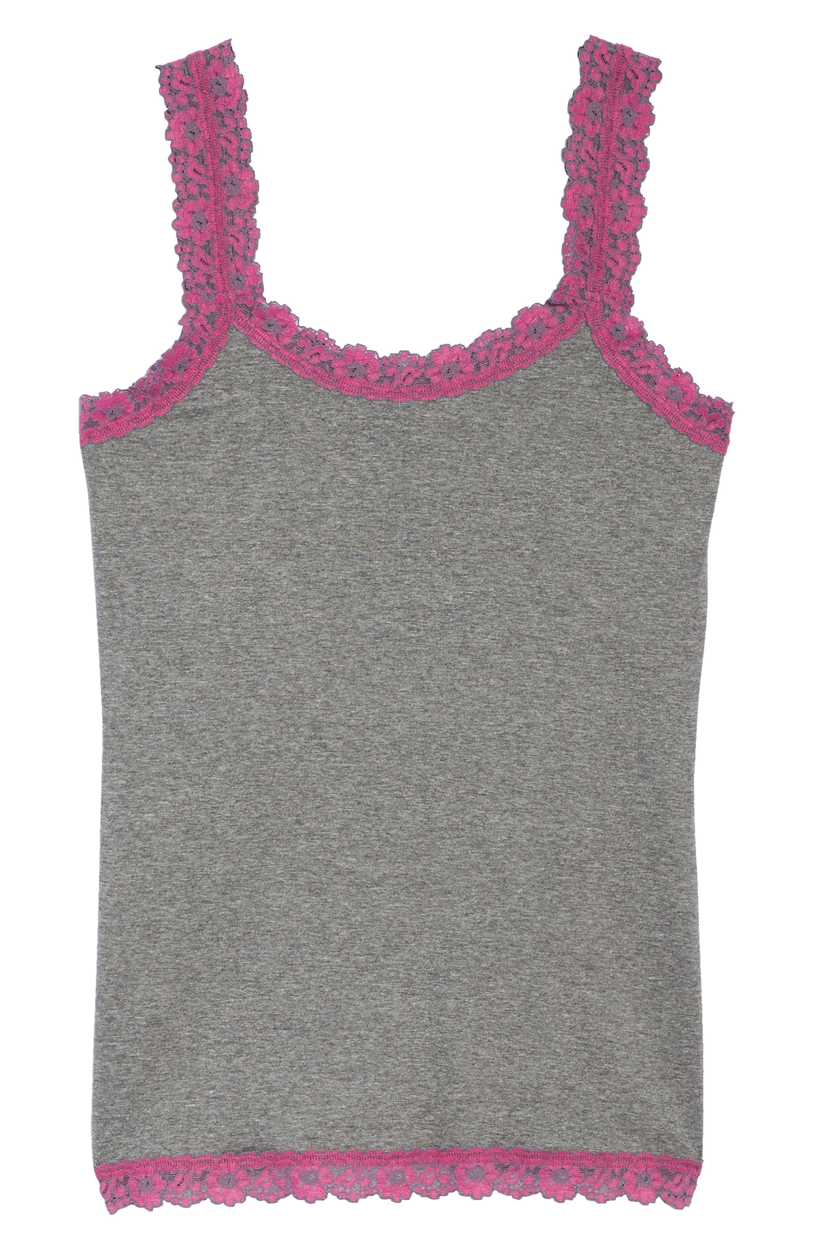 Alternate Image 4  - Hanky Panky Classic Heather Jersey Camisole