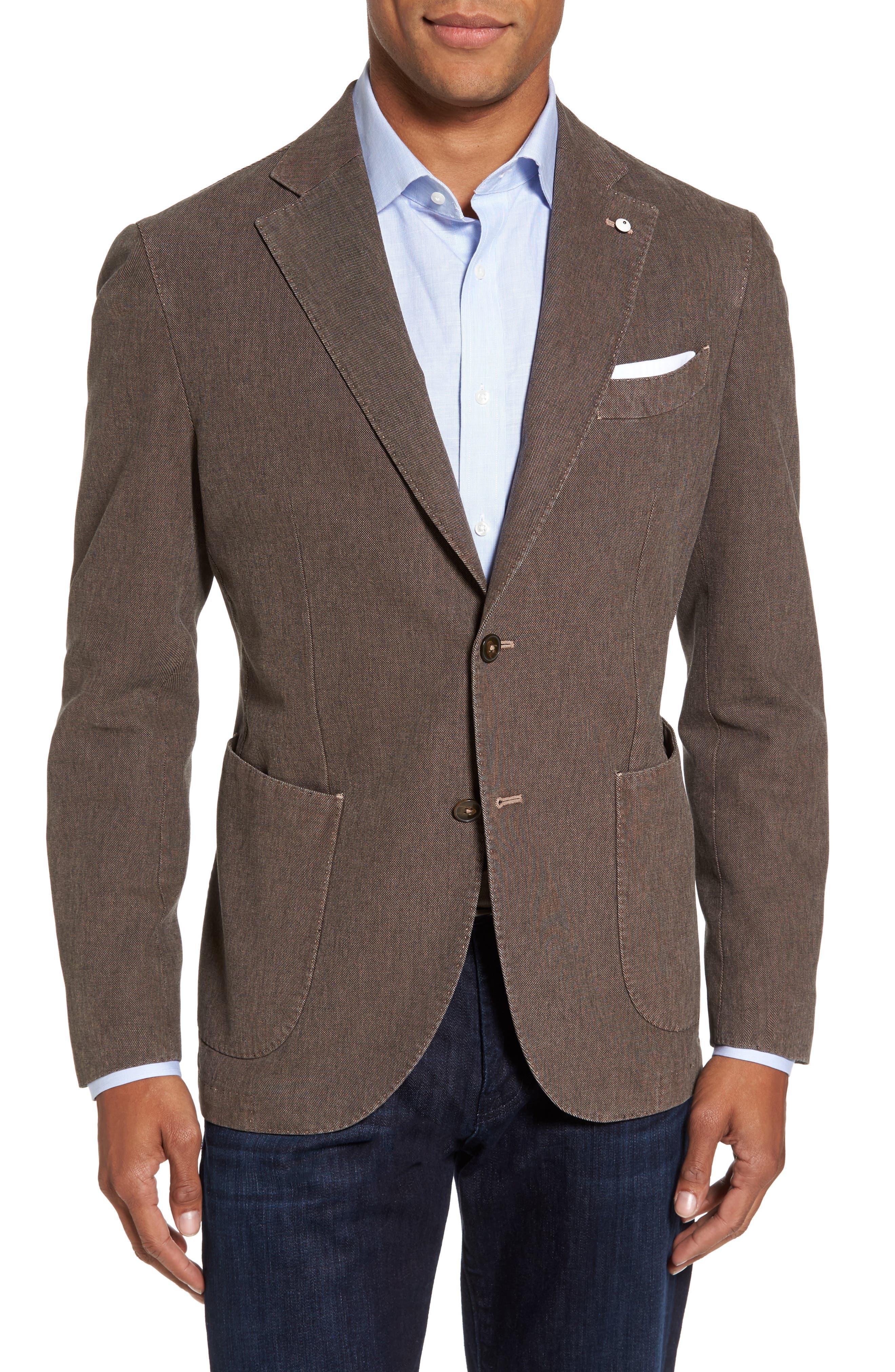 L.B.M. 1911 Classic Fit Cotton Blend Blazer