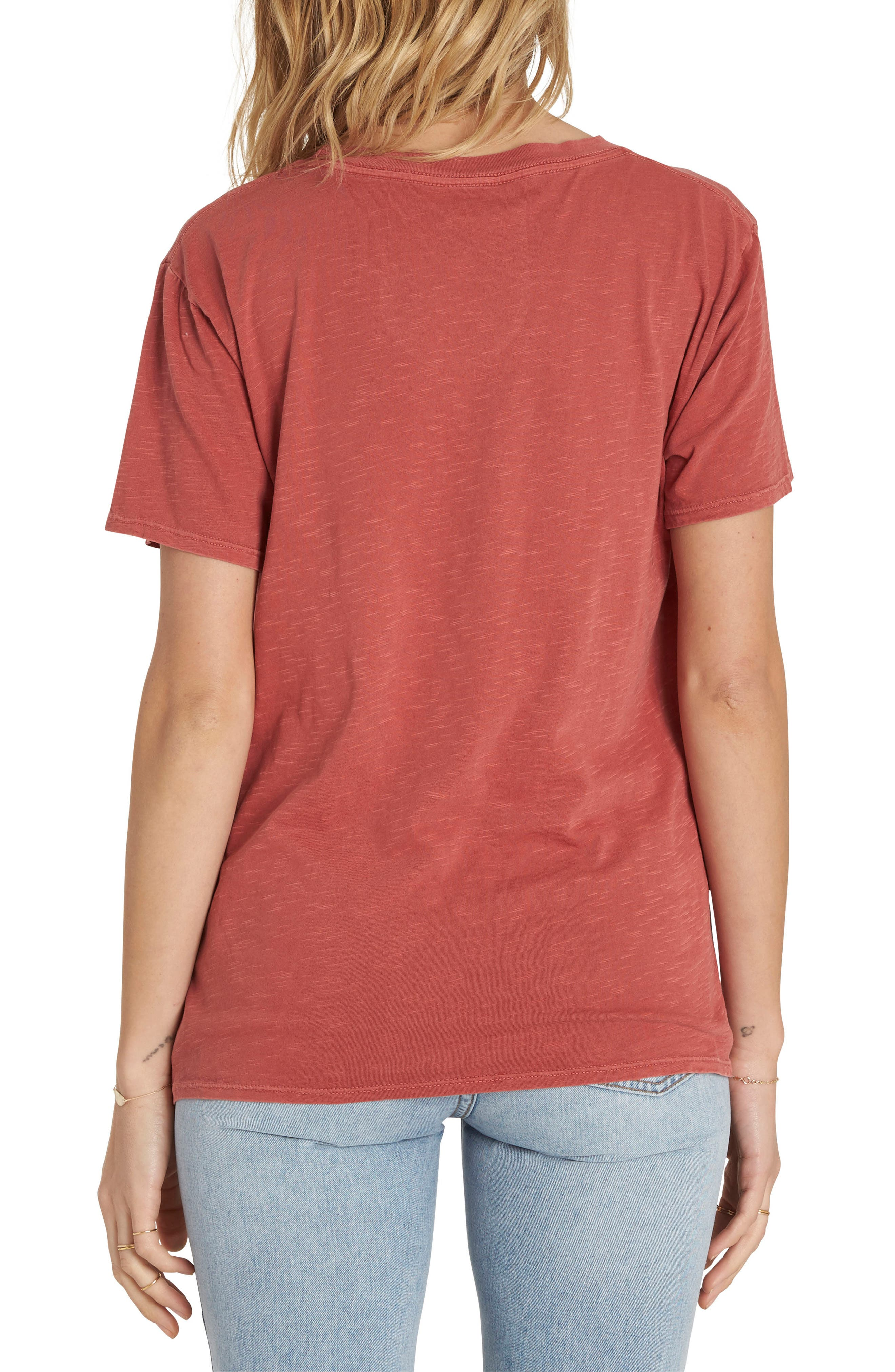 Sunset In the West Graphic Tee,                             Alternate thumbnail 2, color,                             Sienna