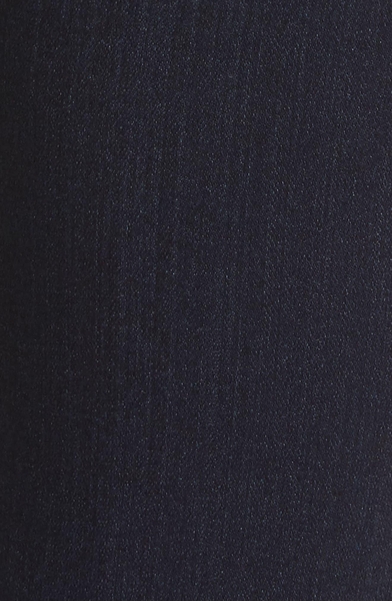 Transcend - Verdugo Ankle Skinny Jeans,                             Alternate thumbnail 6, color,                             Midlake