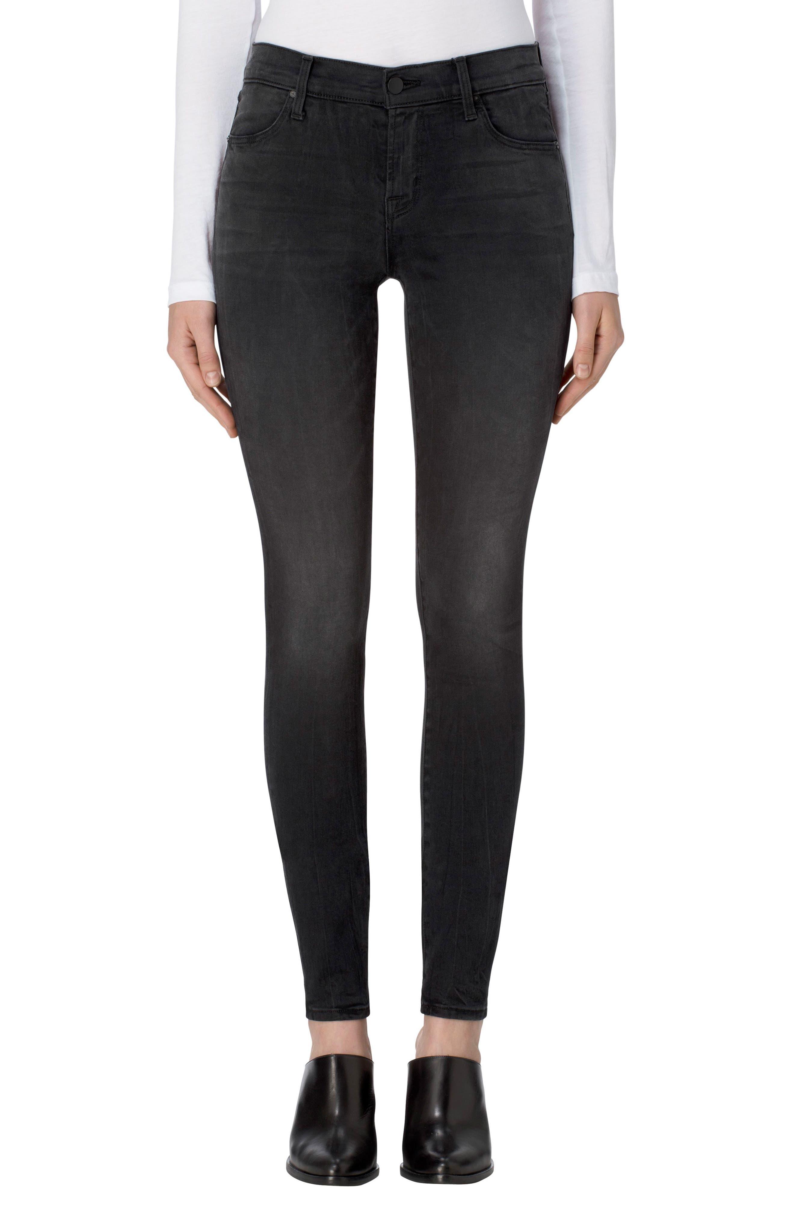J Brand 620 Mid Rise Super Skinny Jeans (Dark Sanctify)