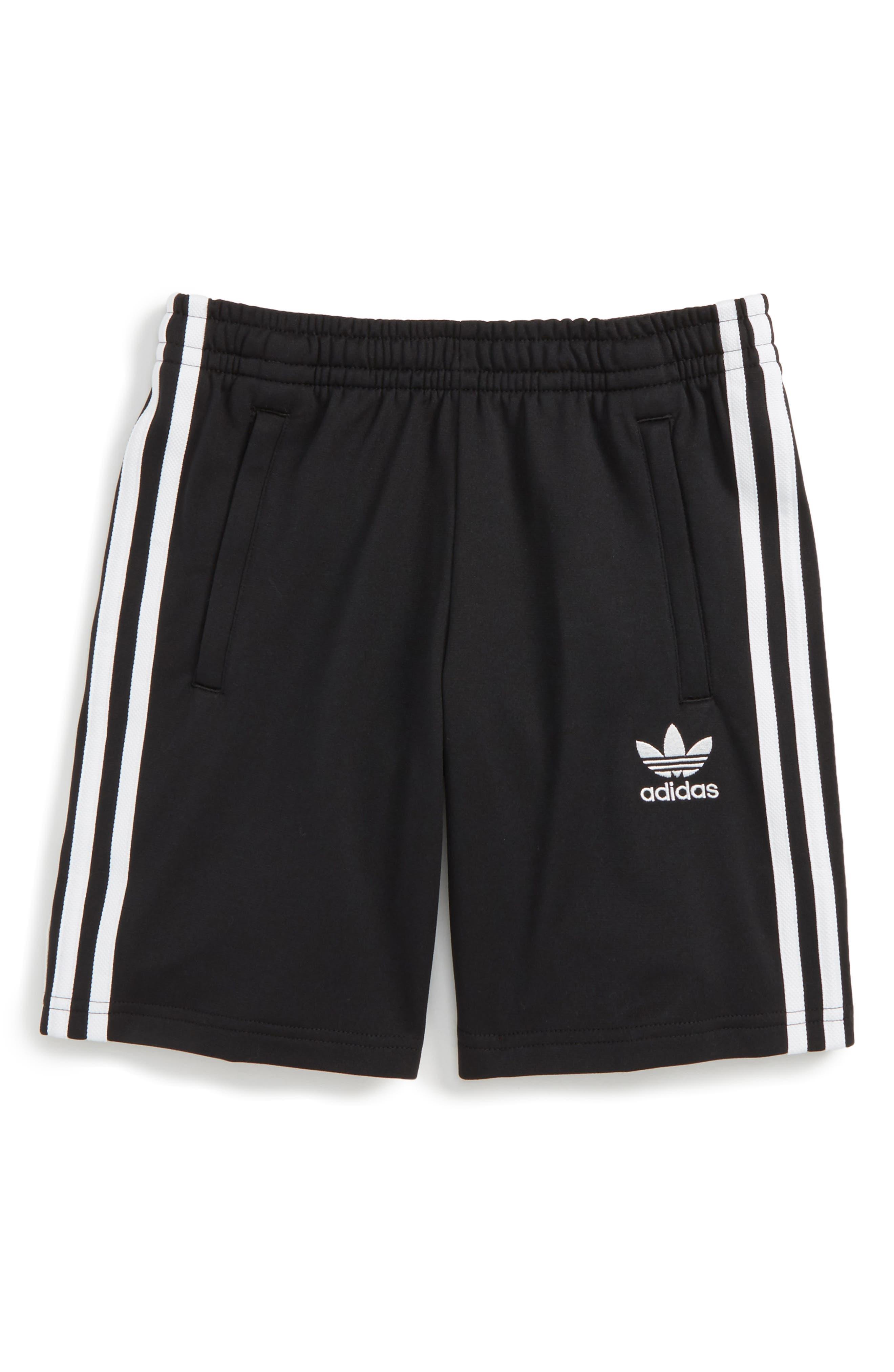 Alternate Image 1 Selected - adidas Originals Superstar Track Shorts (Little Boys & Big Boys)