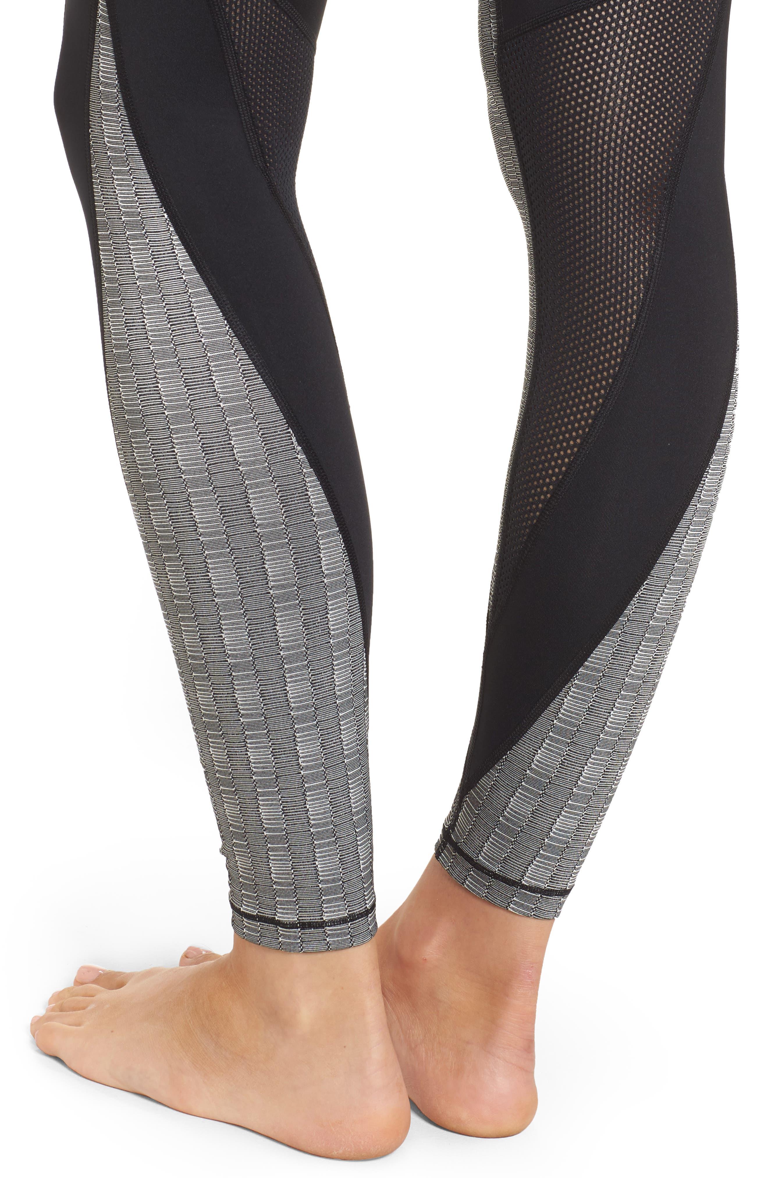 Alternate Image 4  - IVY PARK® Jacquard Block Ankle Leggings