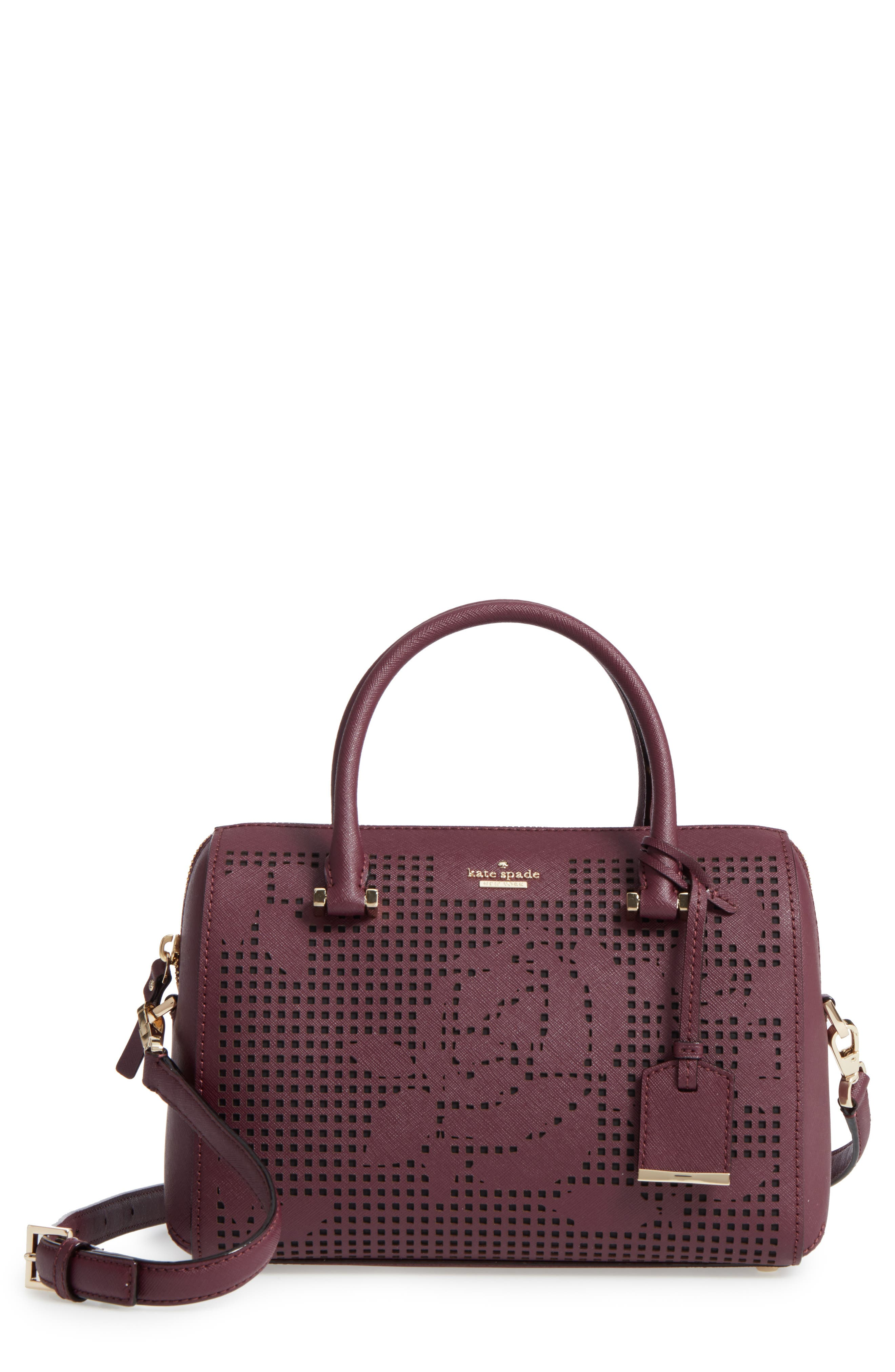 Main Image - kate spade new york cameron street - large lane leather satchel