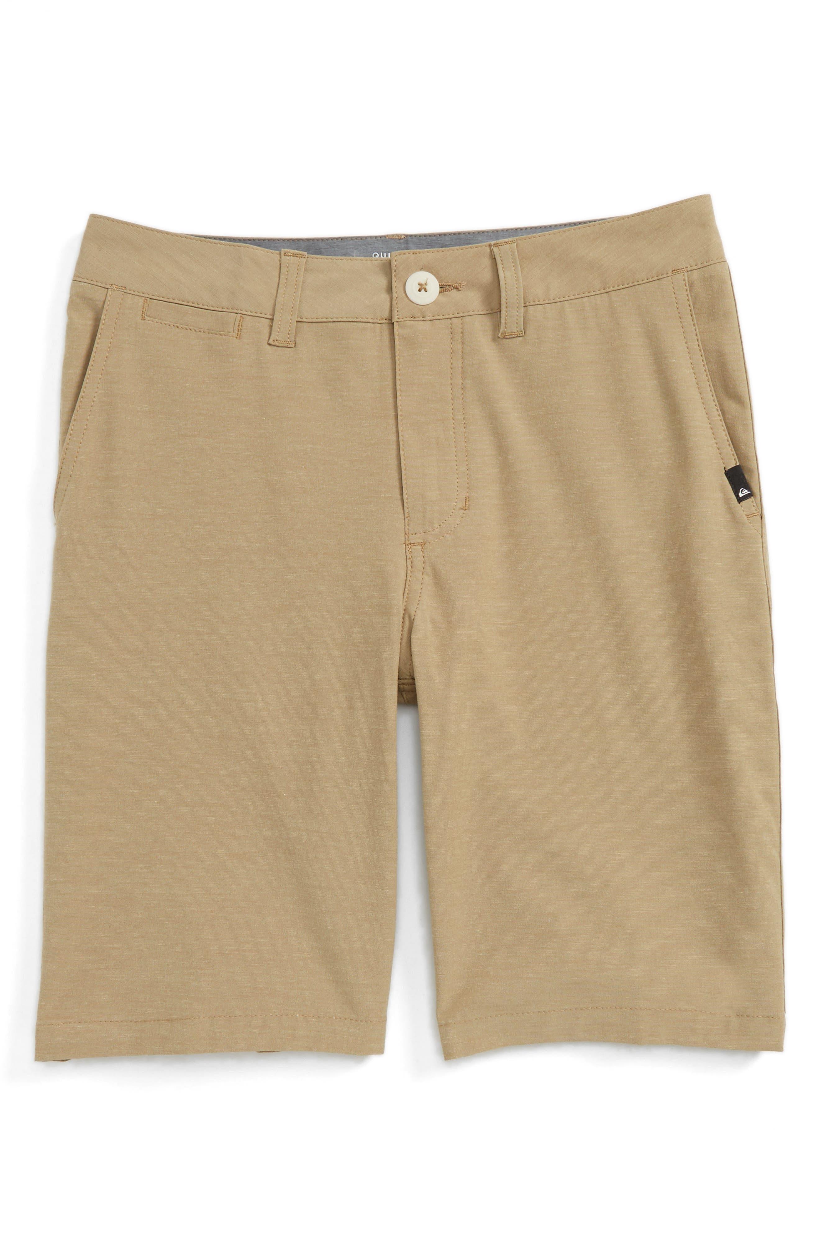 Main Image - Quiksilver Amphibian Hybrid Shorts (Big Boys)