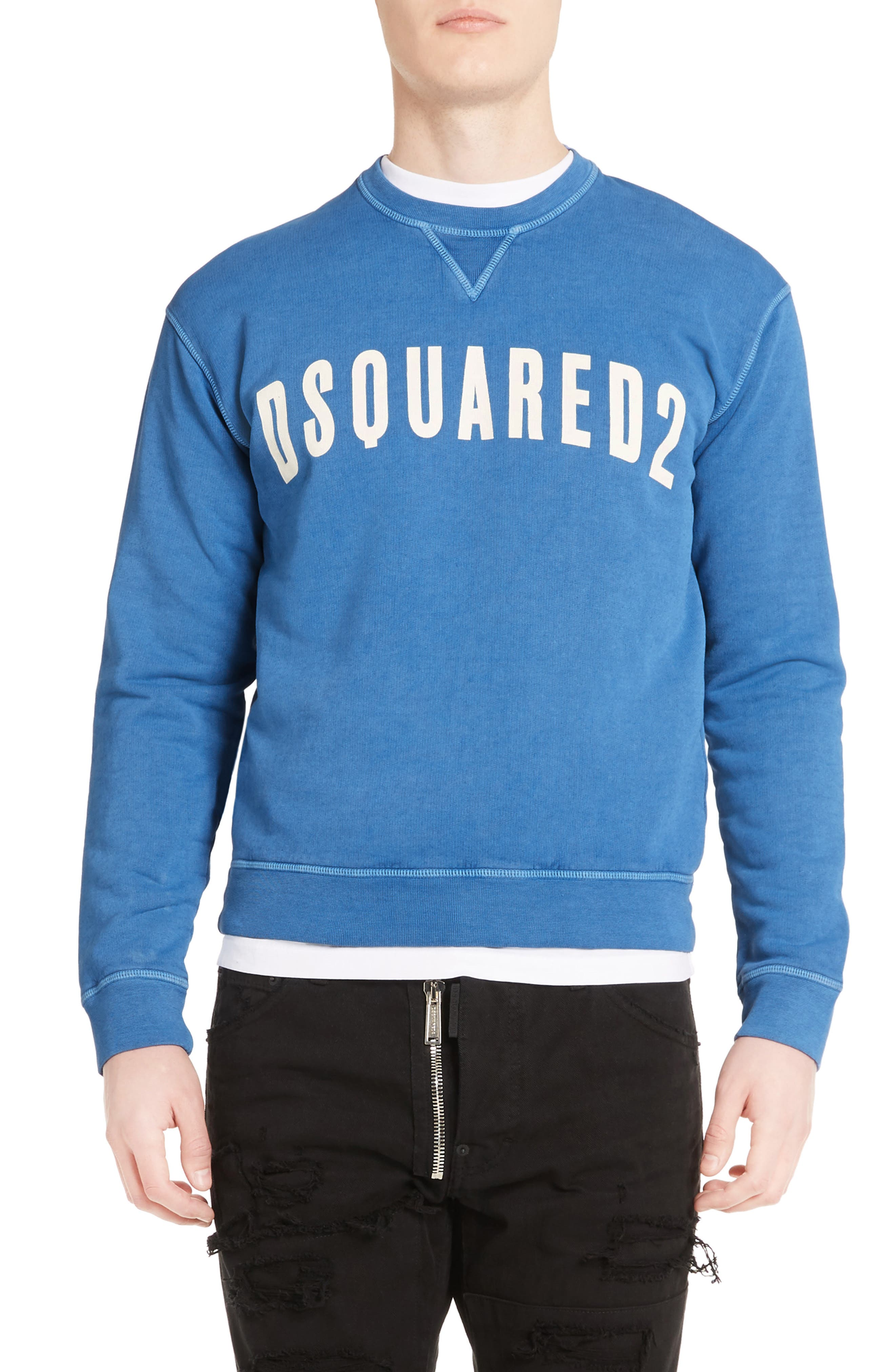 Alternate Image 1 Selected - Dsquared2 Logo Sweatshirt