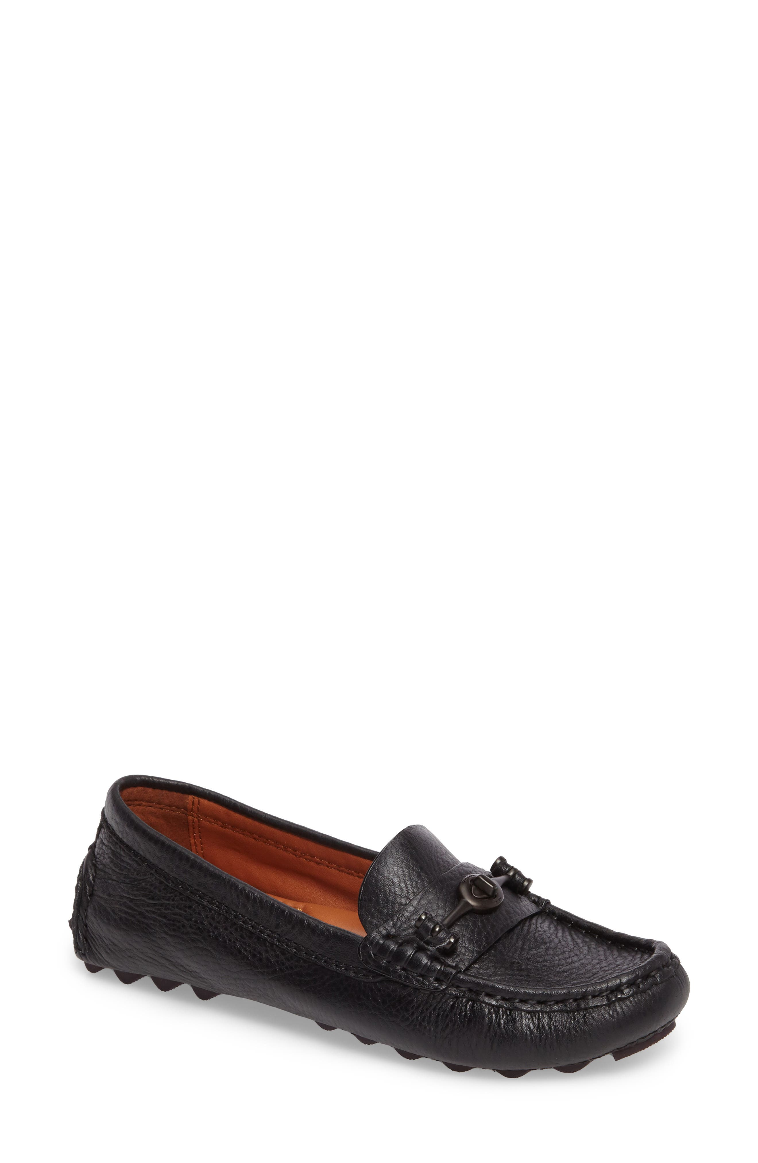COACH Crosby Driver Loafer (Women)