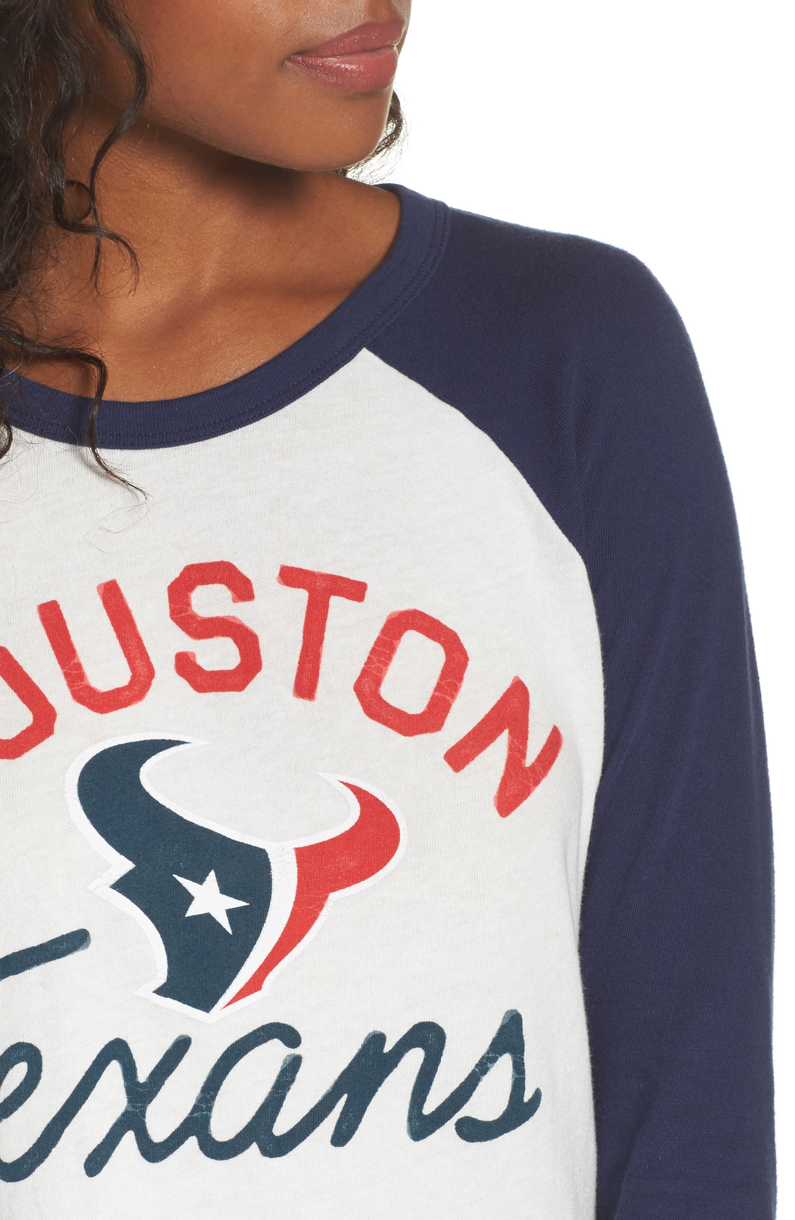 Alternate Image 4  - Junk Food NFL Houston Texans Raglan Tee