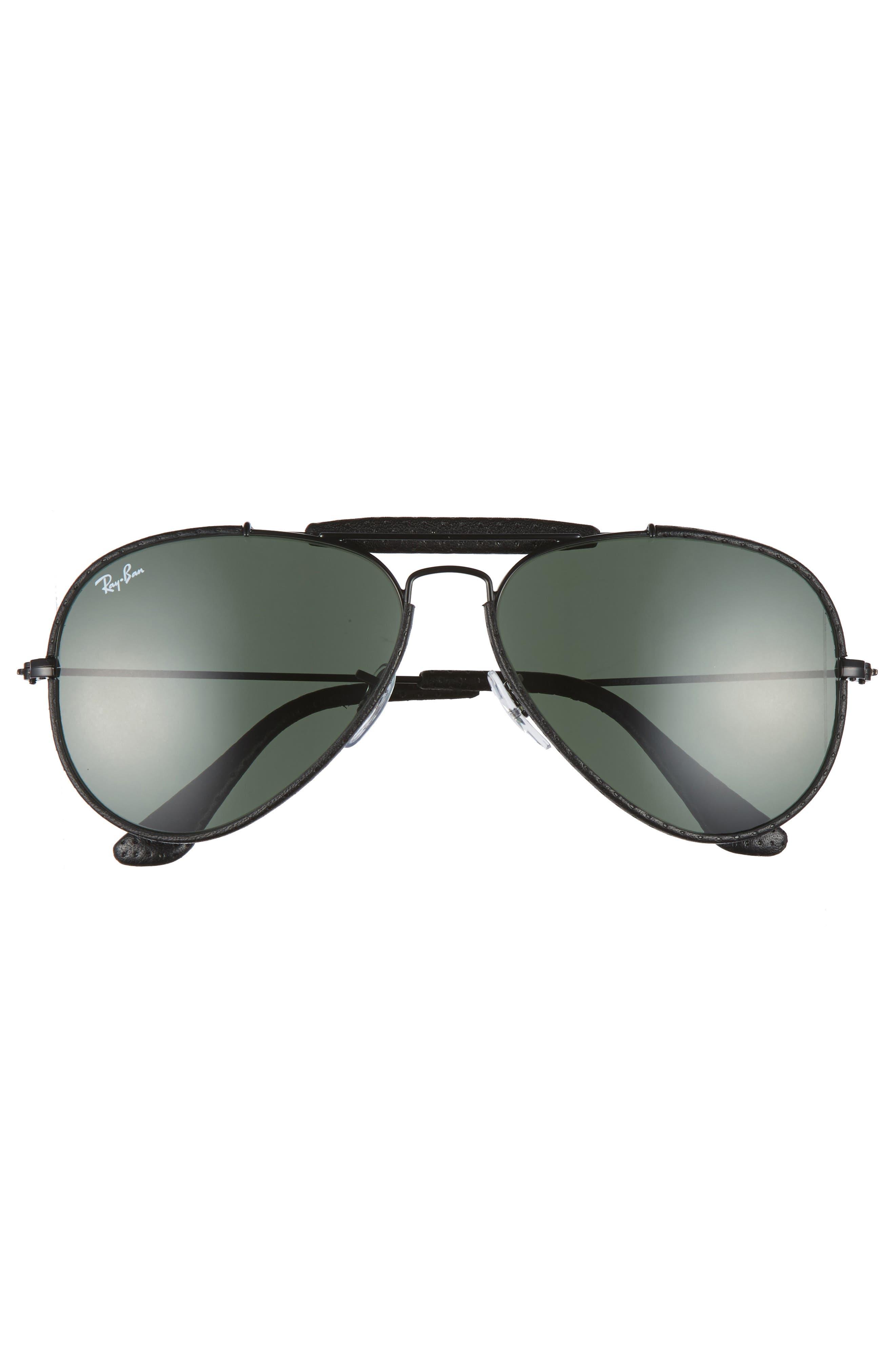 Alternate Image 3  - Ray-Ban Outdoorsman 58mm Aviator Sunglasses
