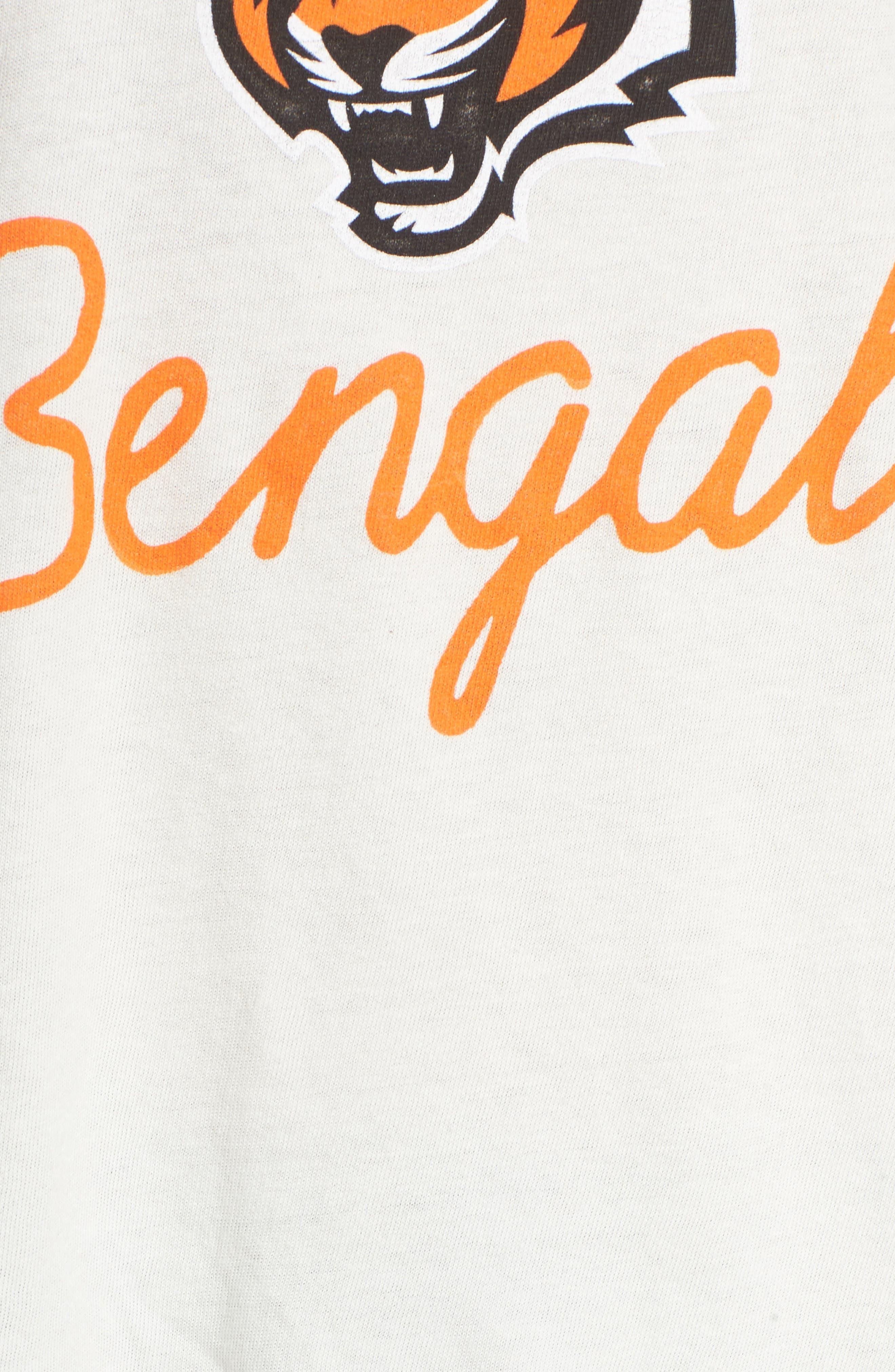 Alternate Image 5  - Junk Food NFL Cincinnati Bengals Raglan Tee