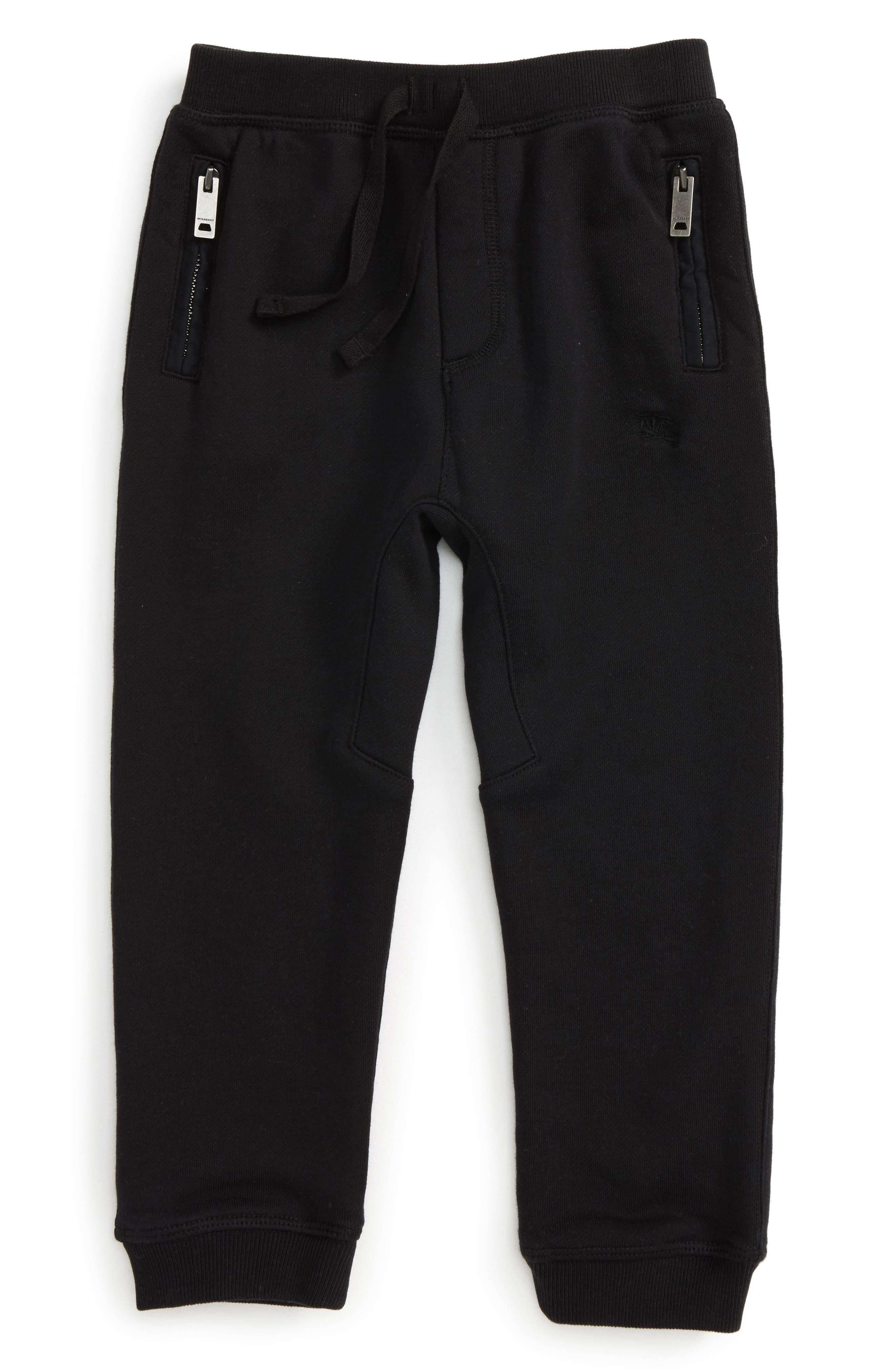 Main Image - Burberry 'Mini Phill' Sweatpants (Baby Boys)