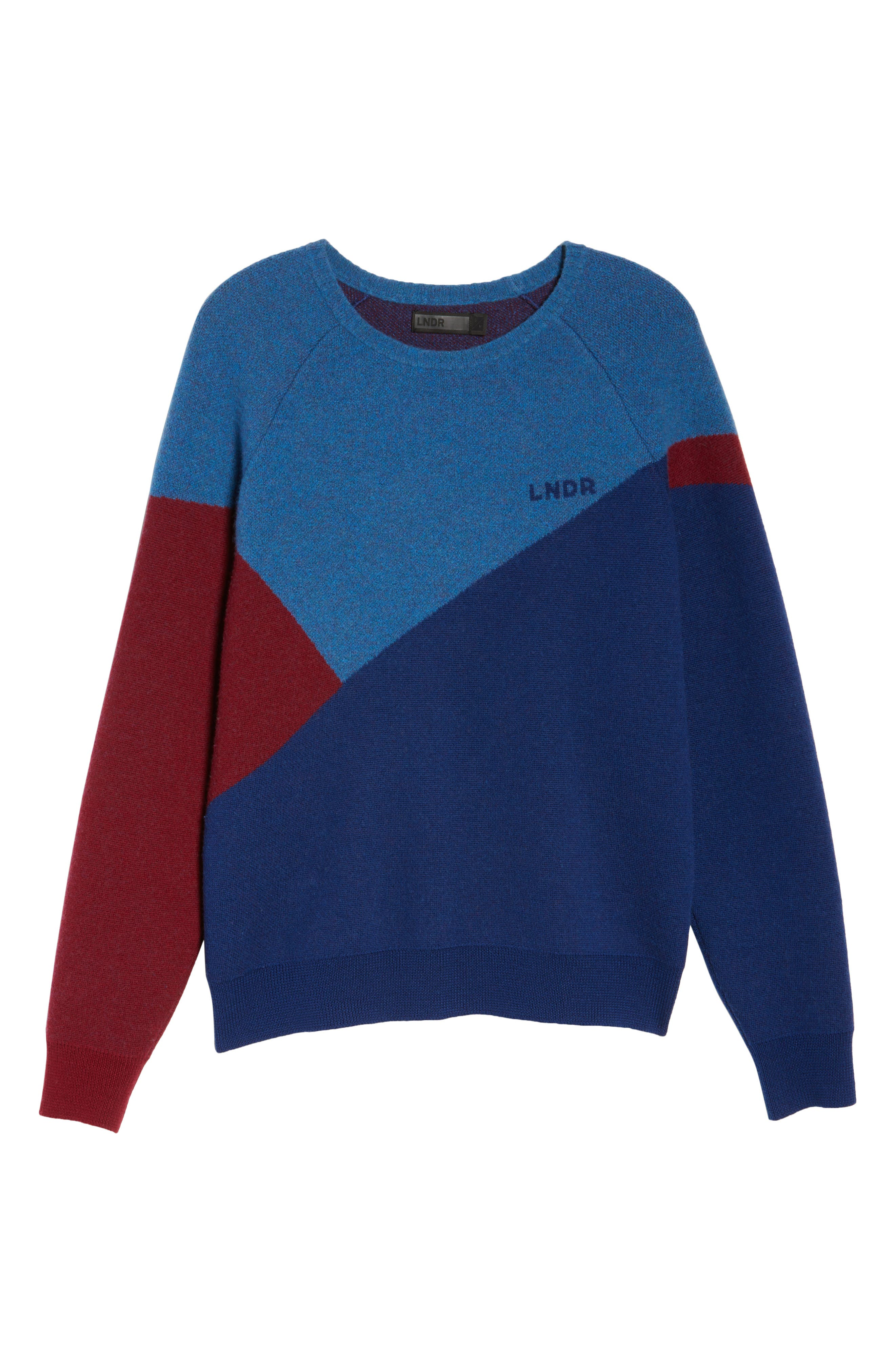 Winter Waterboy Sweater,                             Alternate thumbnail 6, color,                             Burgundy