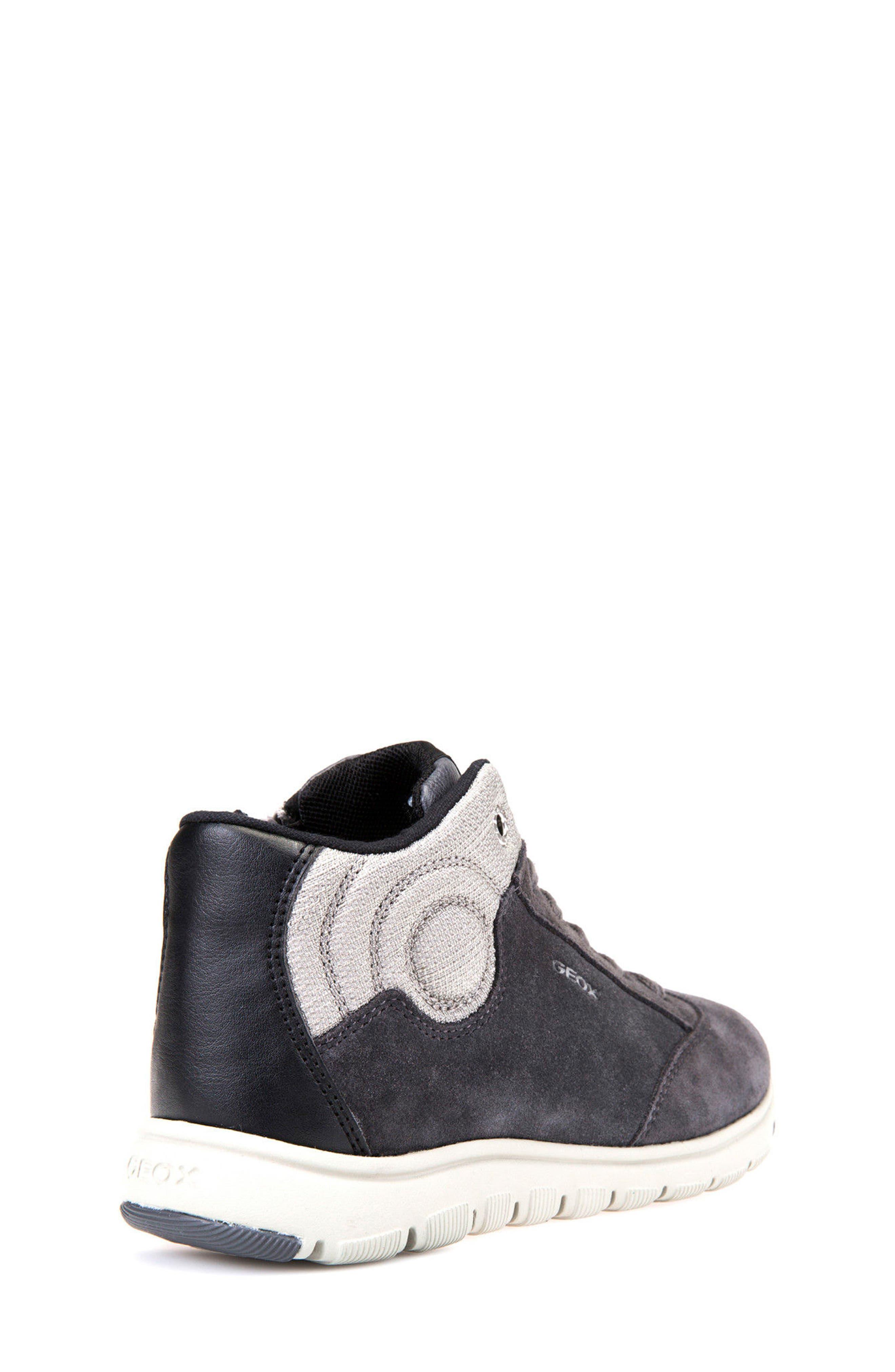 Xunday Mid Top Sneaker,                             Alternate thumbnail 7, color,                             Grey/ Light Grey