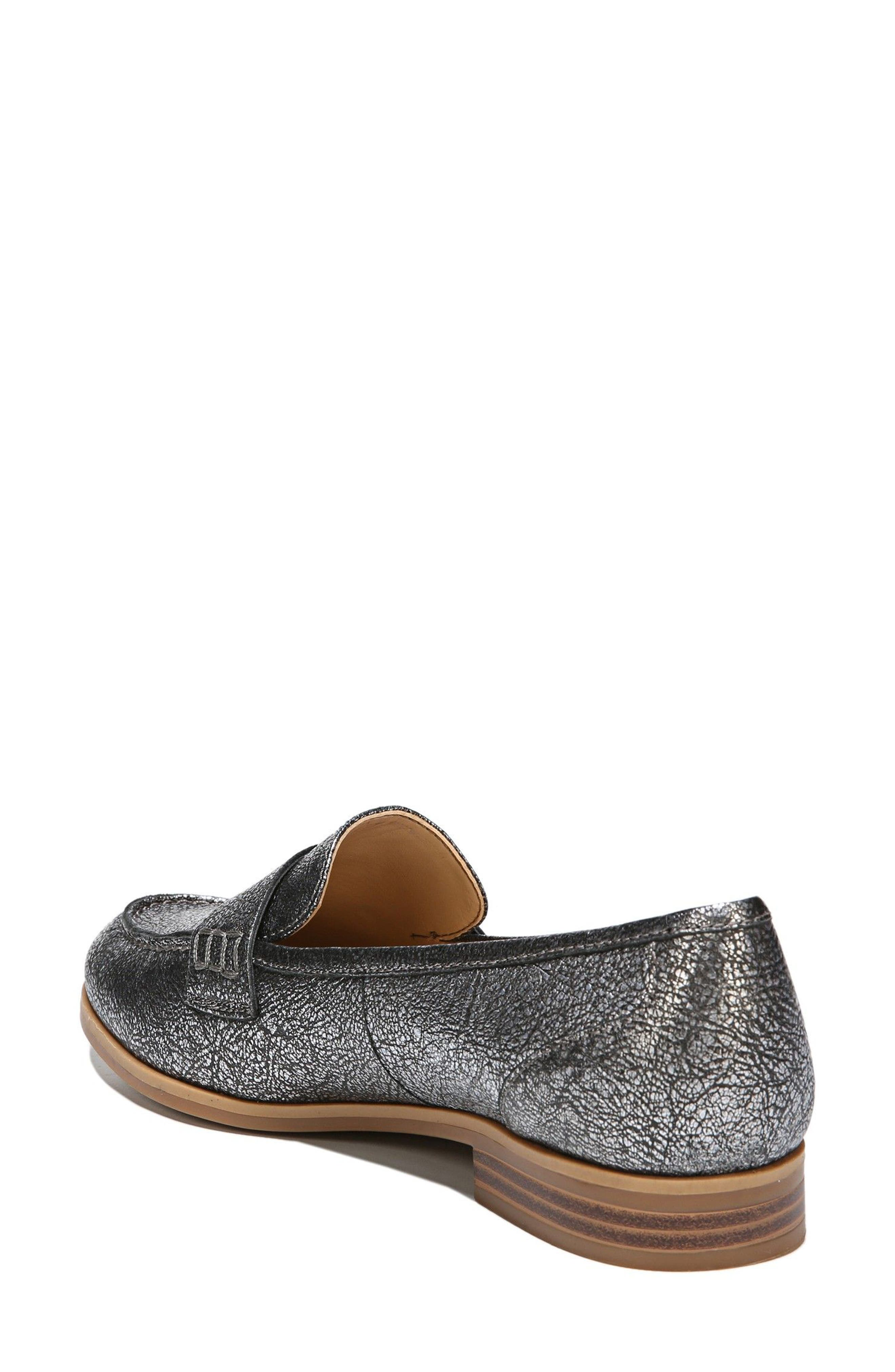 Veronica Loafer,                             Alternate thumbnail 2, color,                             Silver Leather