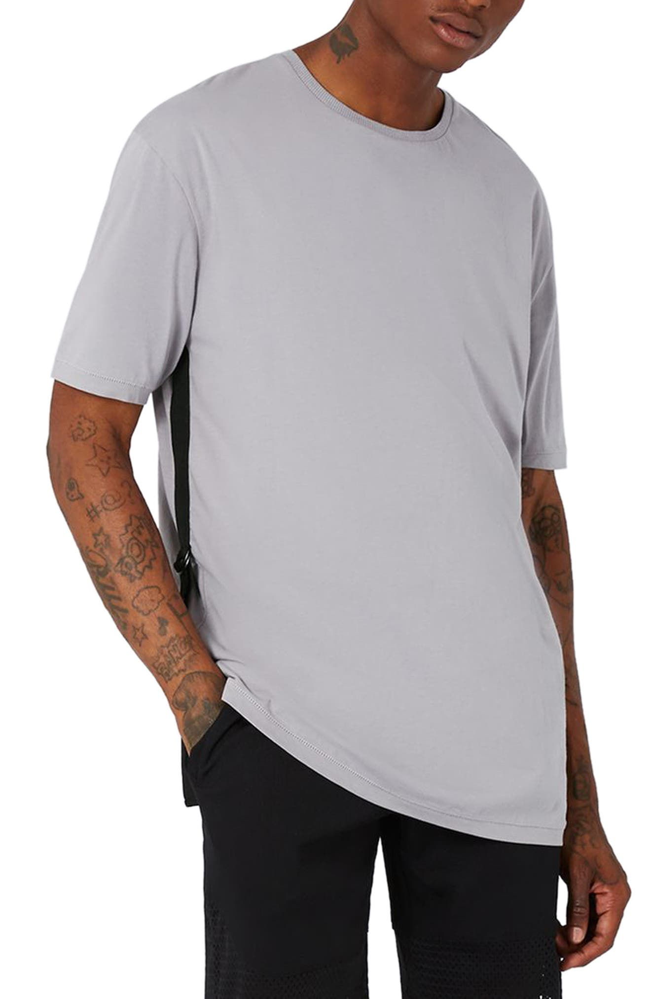 Topman AAA Collection Side Strap T-Shirt