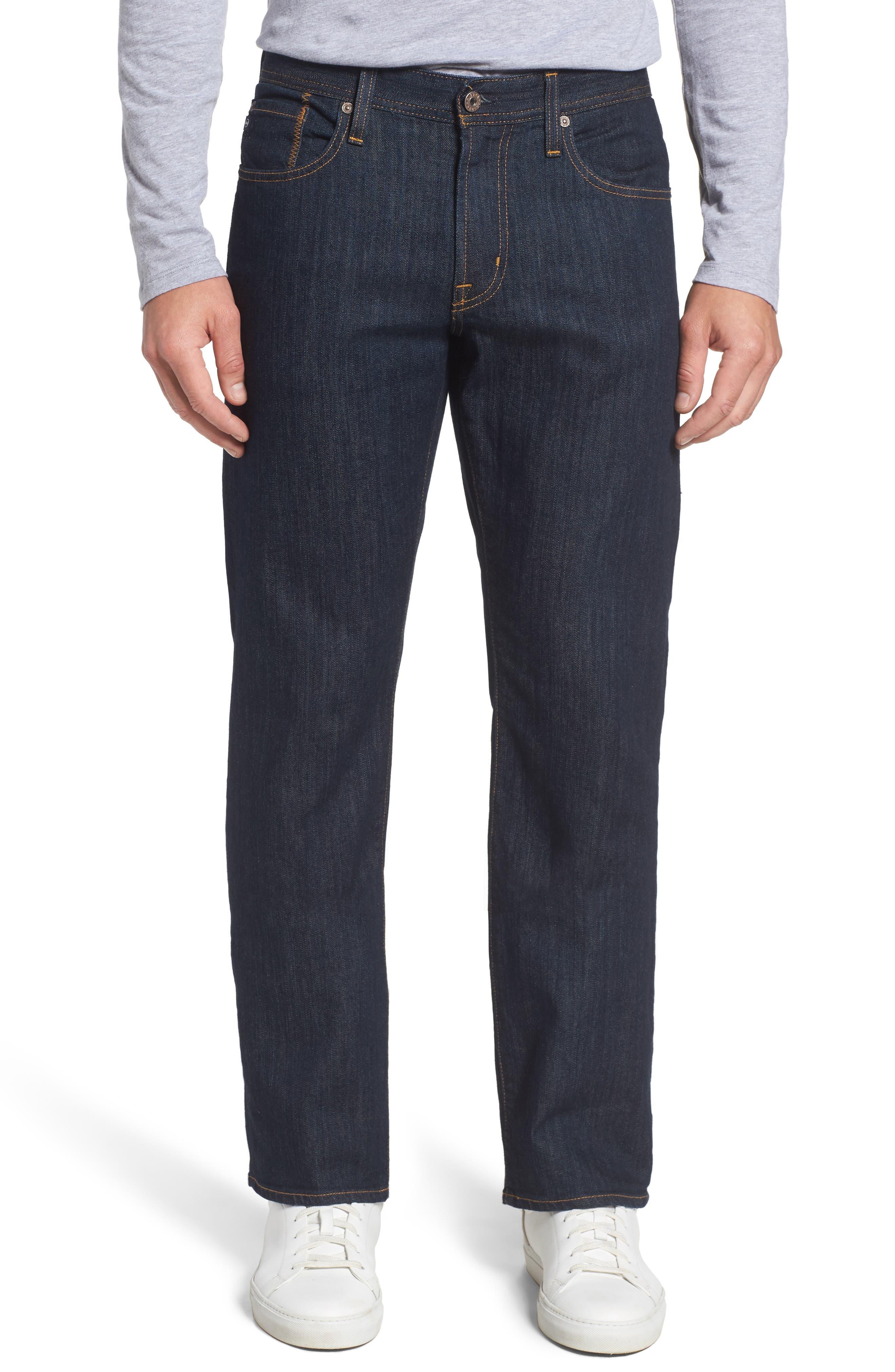 'Protégé' Straight Leg Jeans,                         Main,                         color, Blake