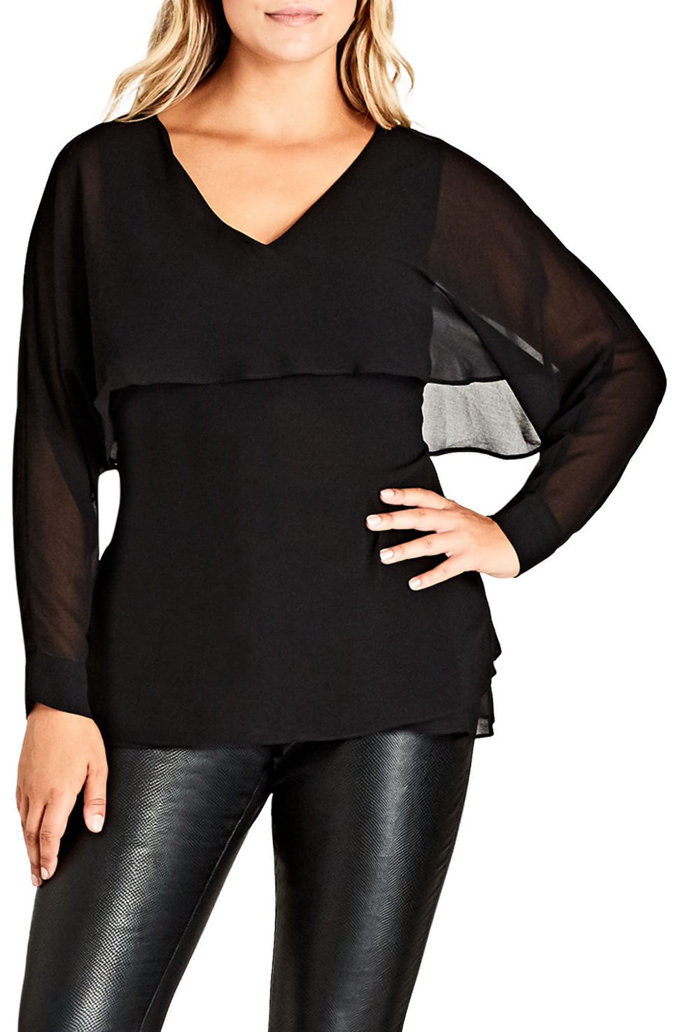 CITY CHIC Cape Top