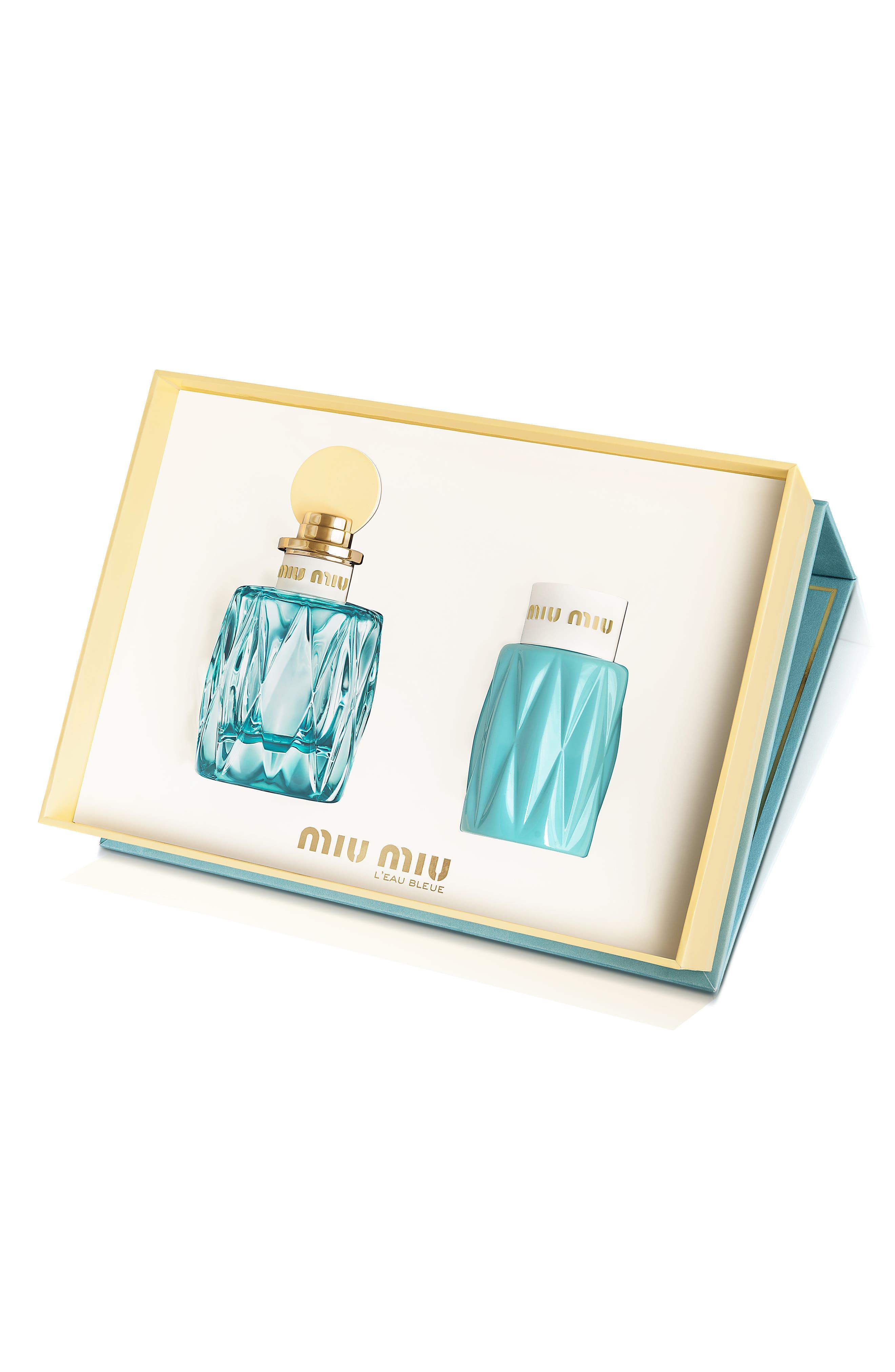 Main Image - Miu Miu L'Eau Bleue Prestige Set