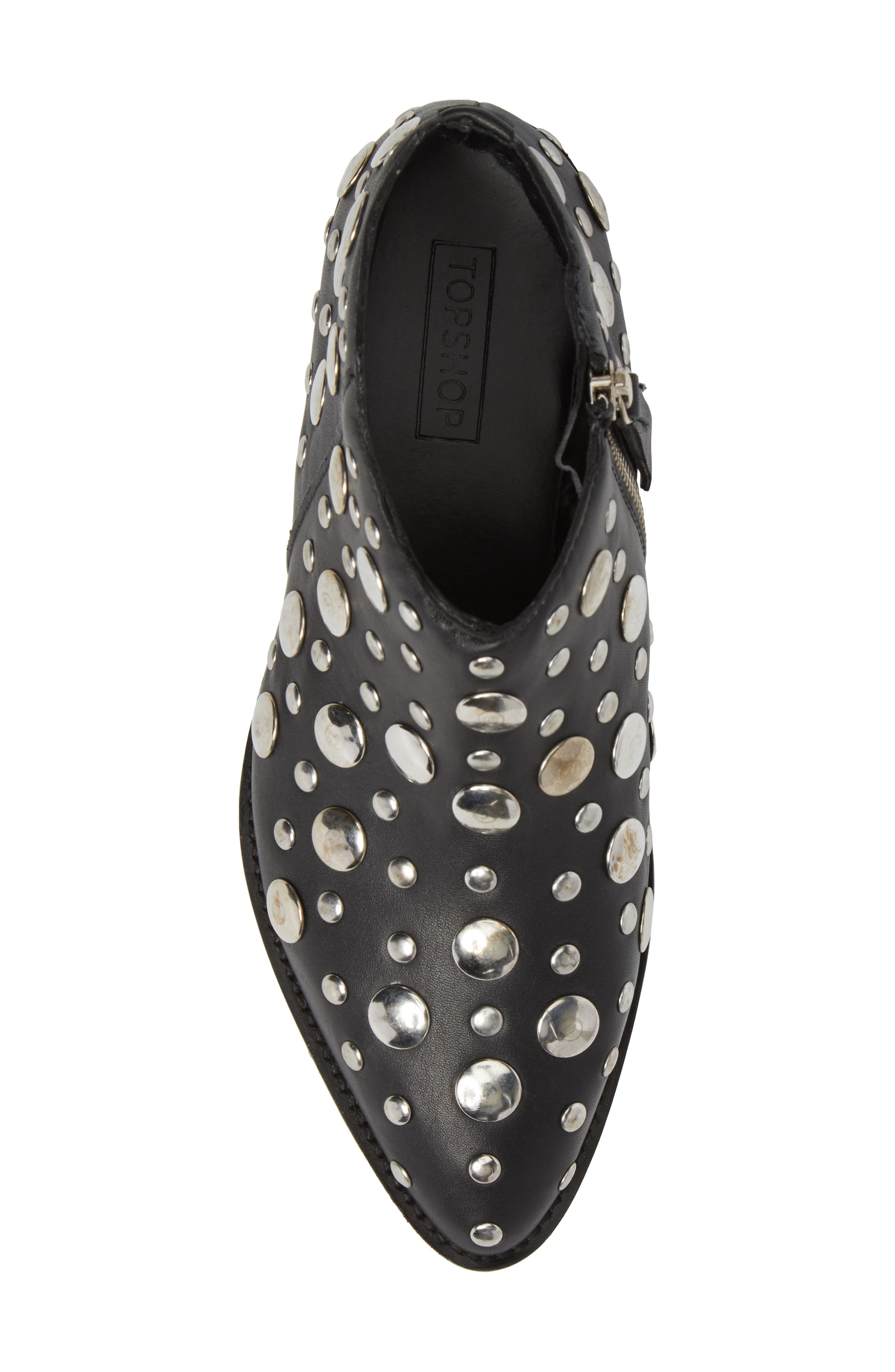 Alternate Image 5  - Topshop Alec Studded Bootie (Women)