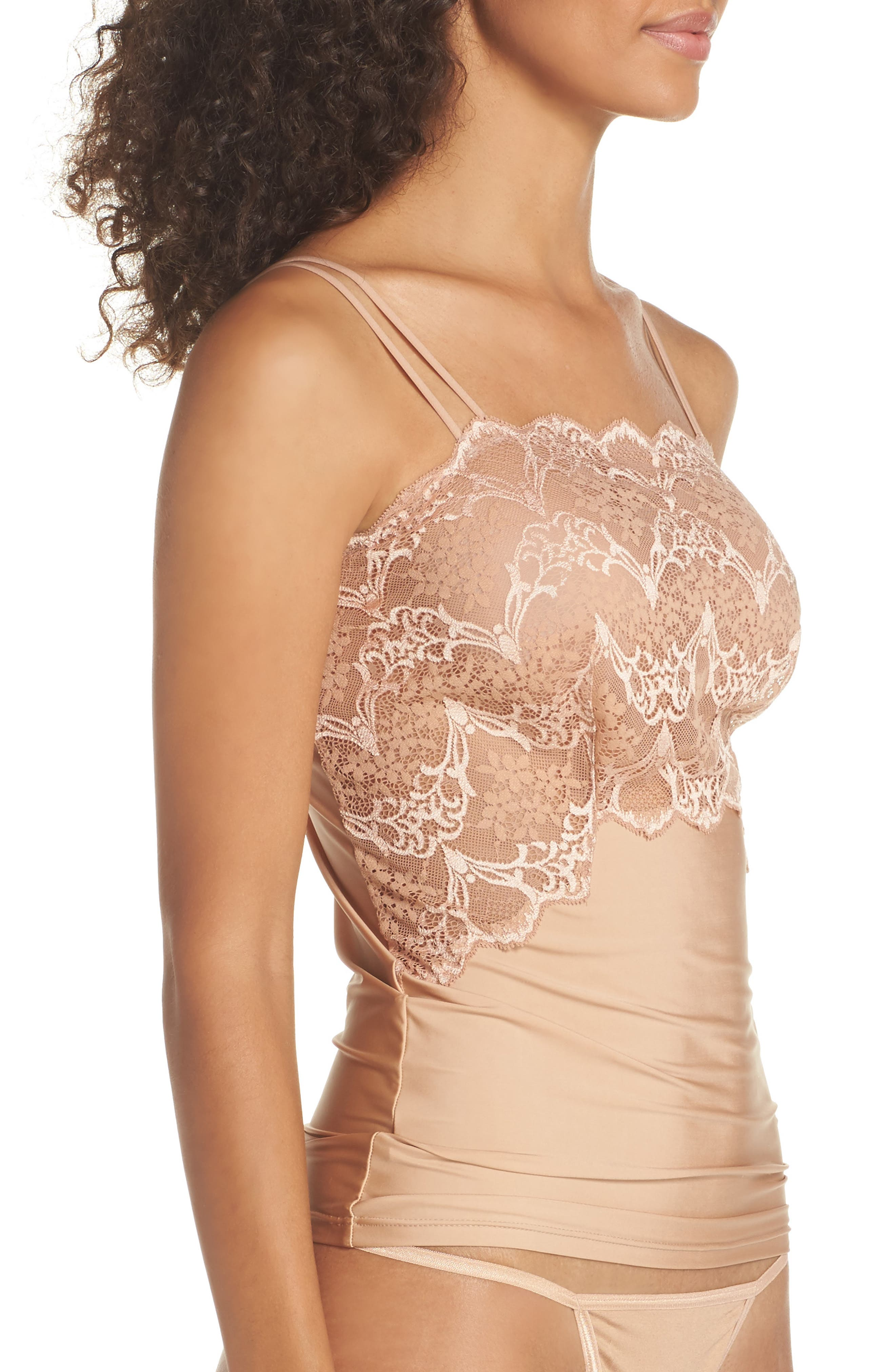 Alternate Image 3  - Wacoal Lace Impression Camisole