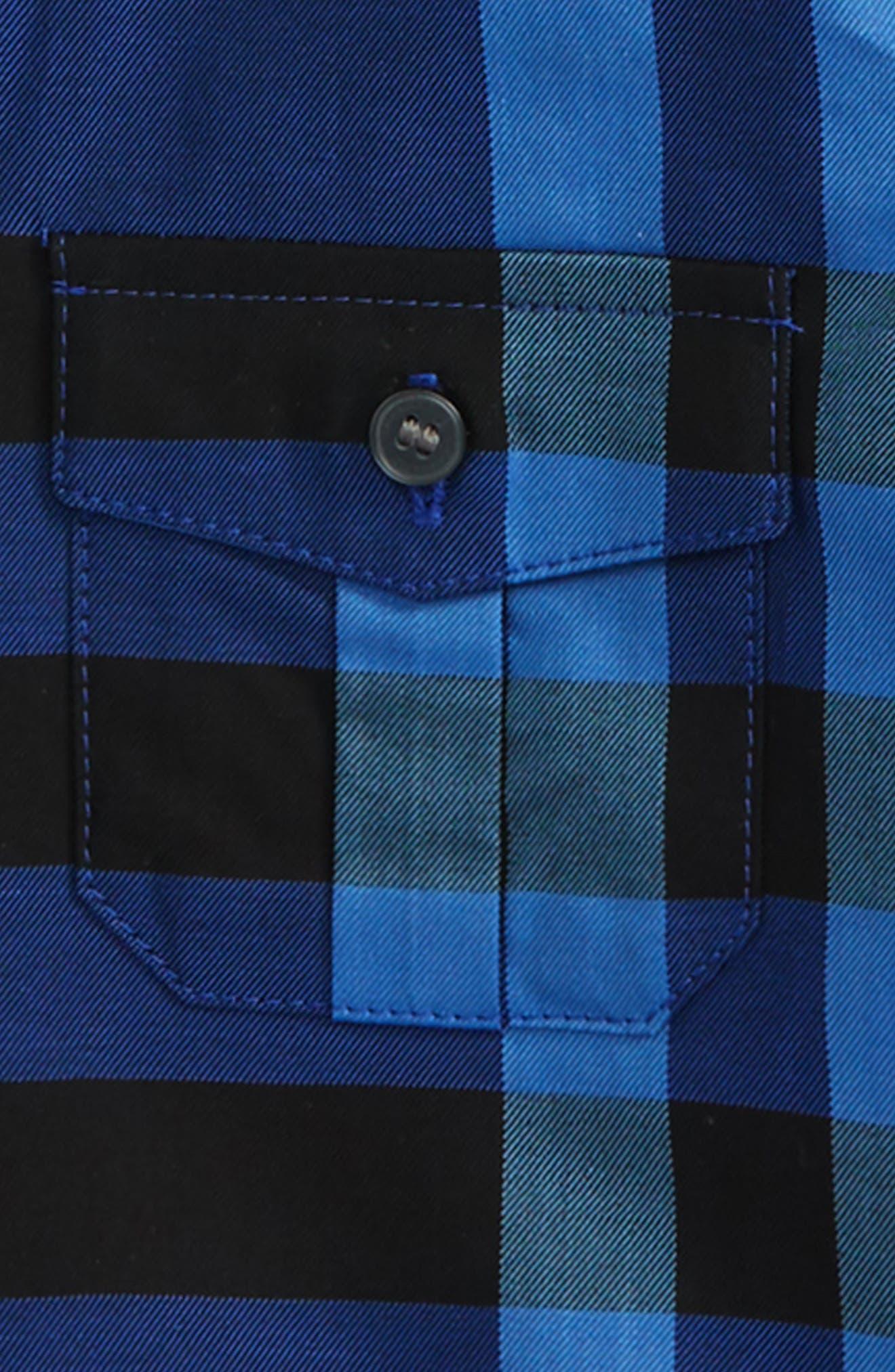 Alternate Image 2  - Burberry Trenta Plaid Woven Shirt (Baby Boys)