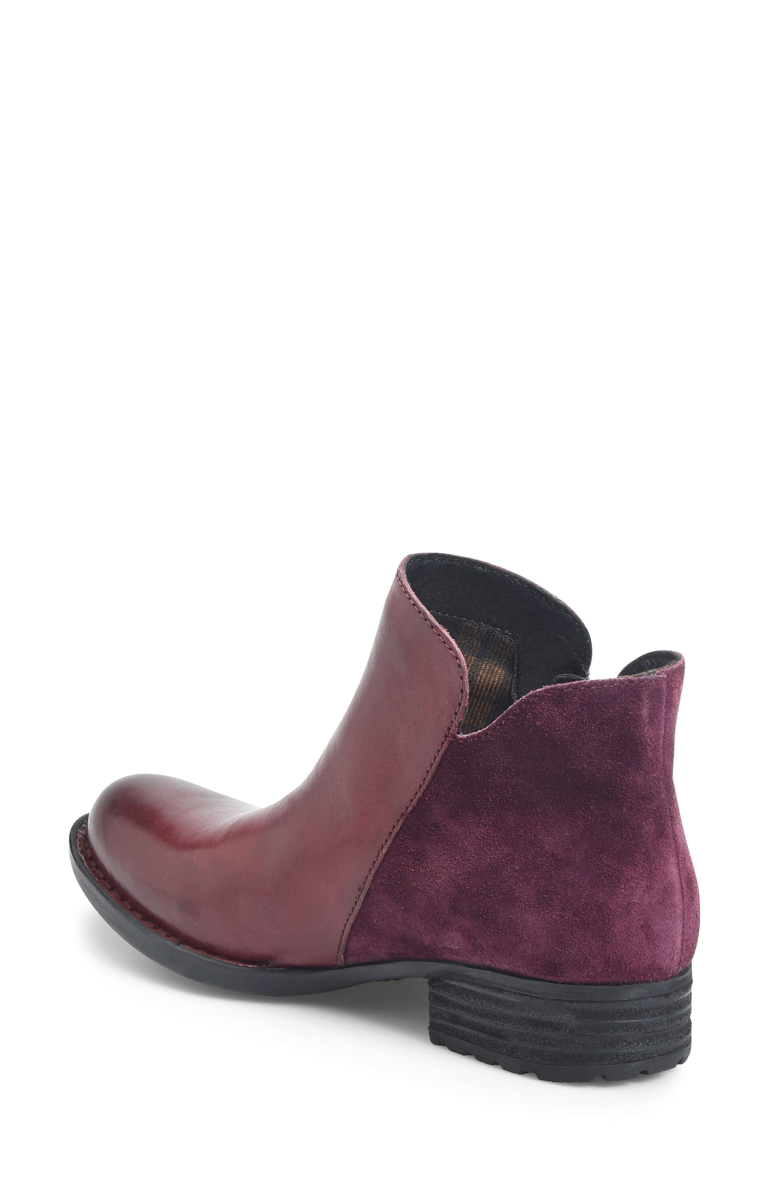 Keefe Bootie,                             Alternate thumbnail 2, color,                             Burgundy/ Purple Combo