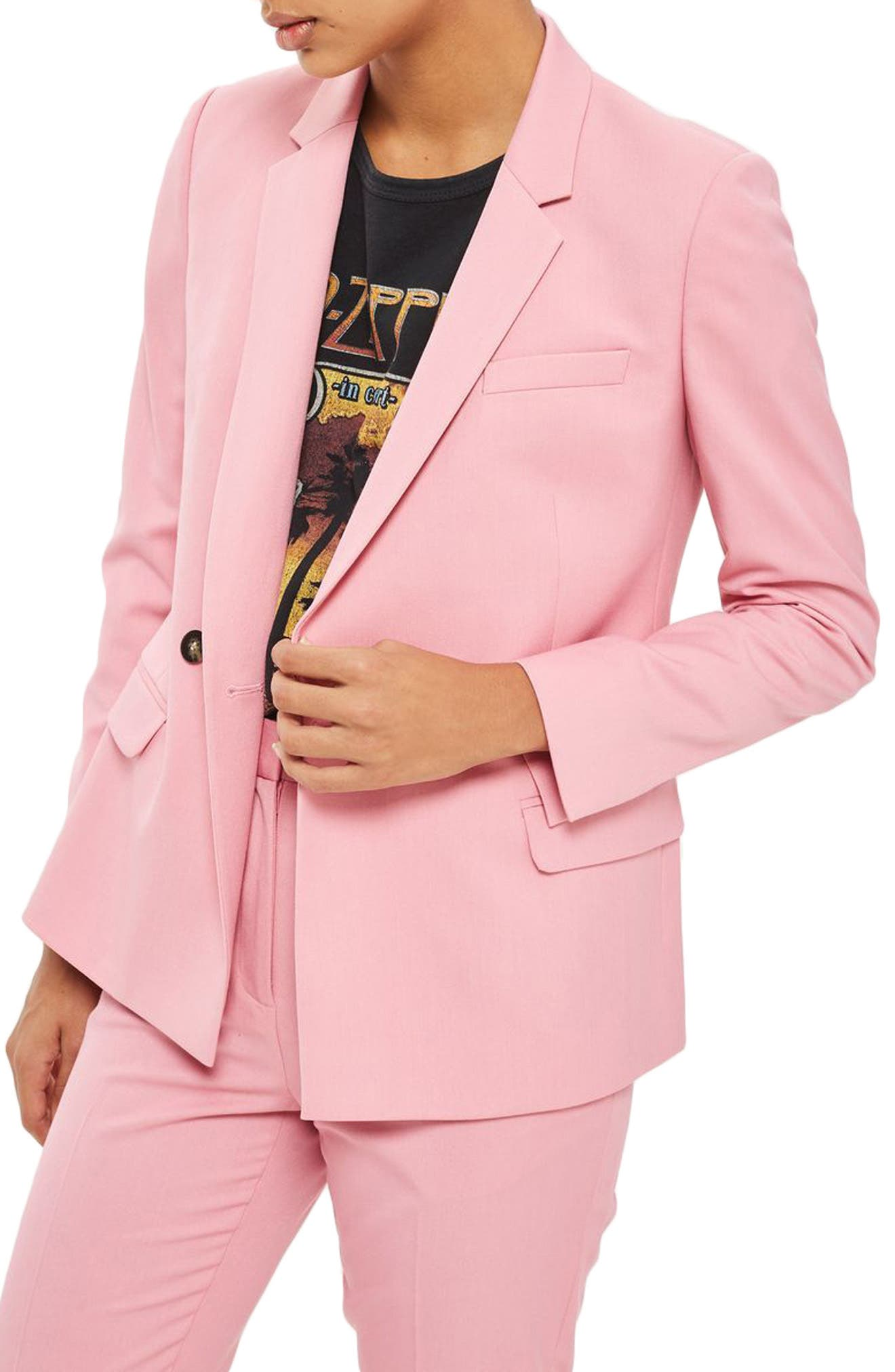 Topshop Double Breasted Suit Jacket | Nordstrom