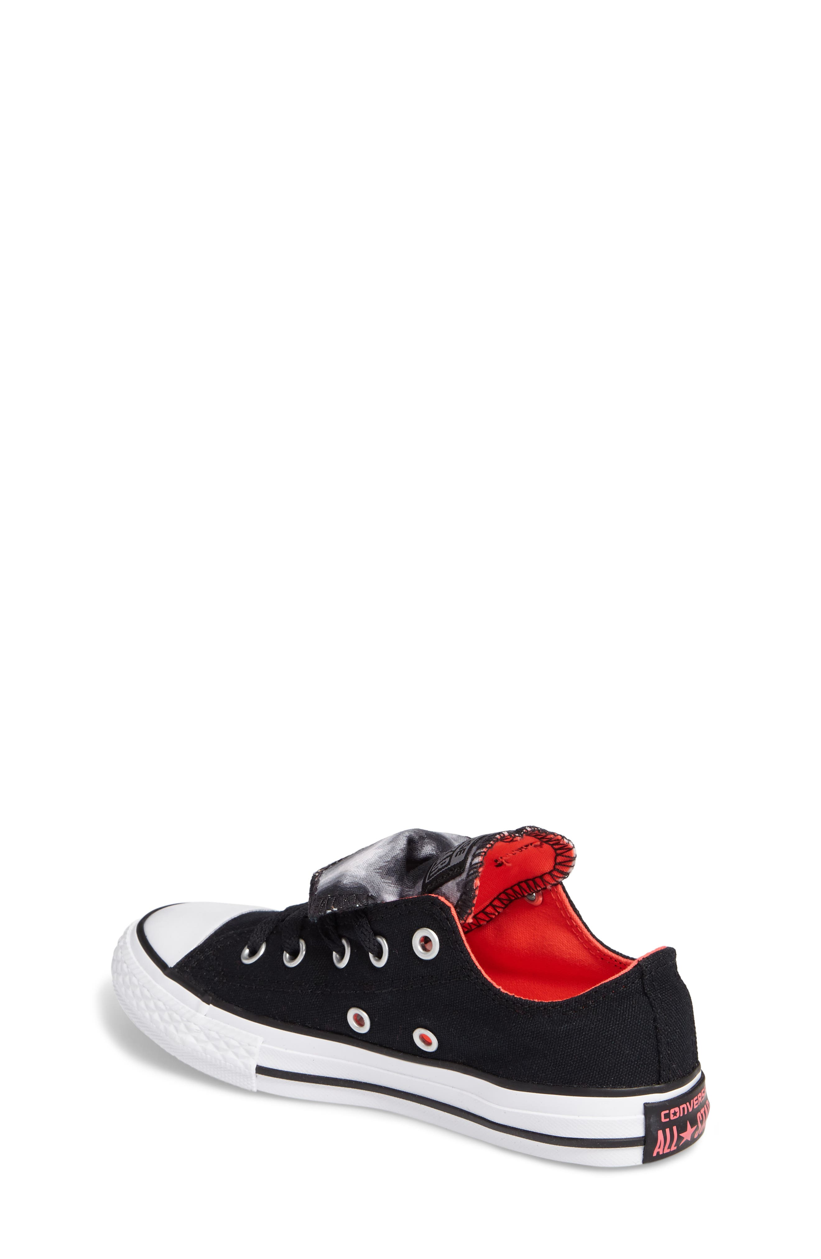 Alternate Image 2  - Converse All Star® Double Tongue Sneaker (Toddler, Little Kid, Big Kid)
