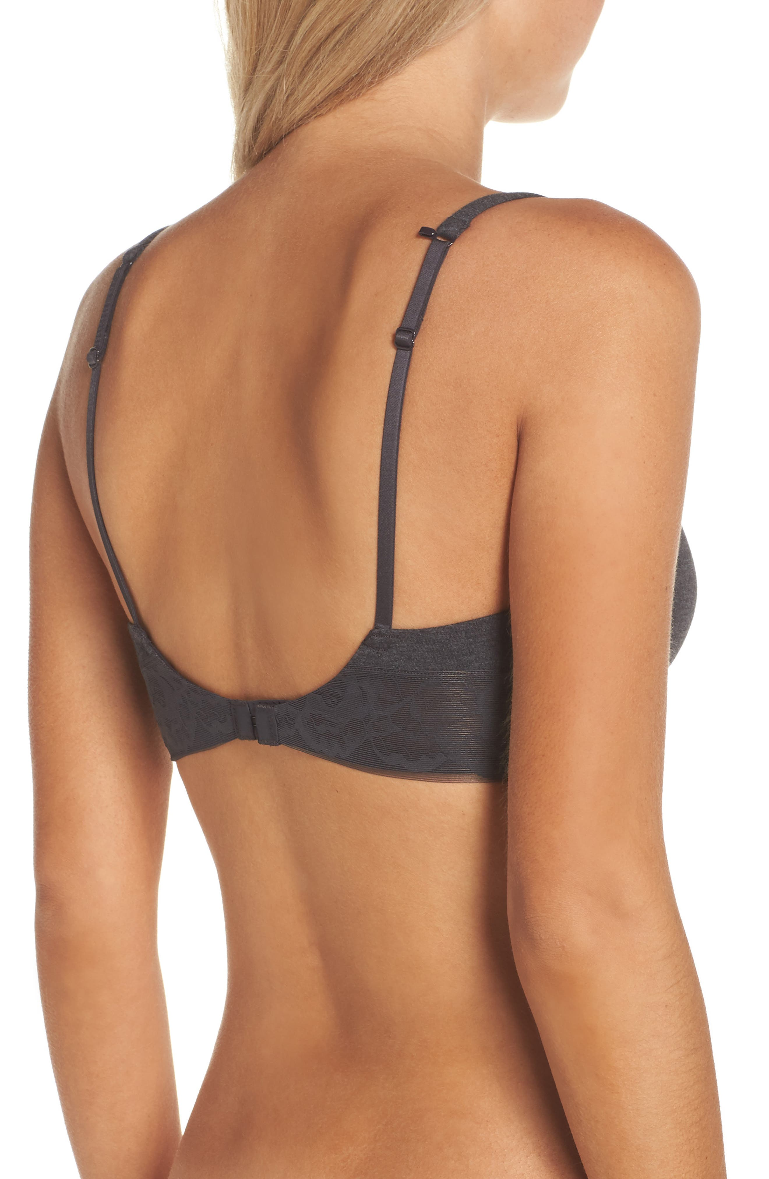 Alternate Image 2  - On Gossamer Wireless Contour Bra