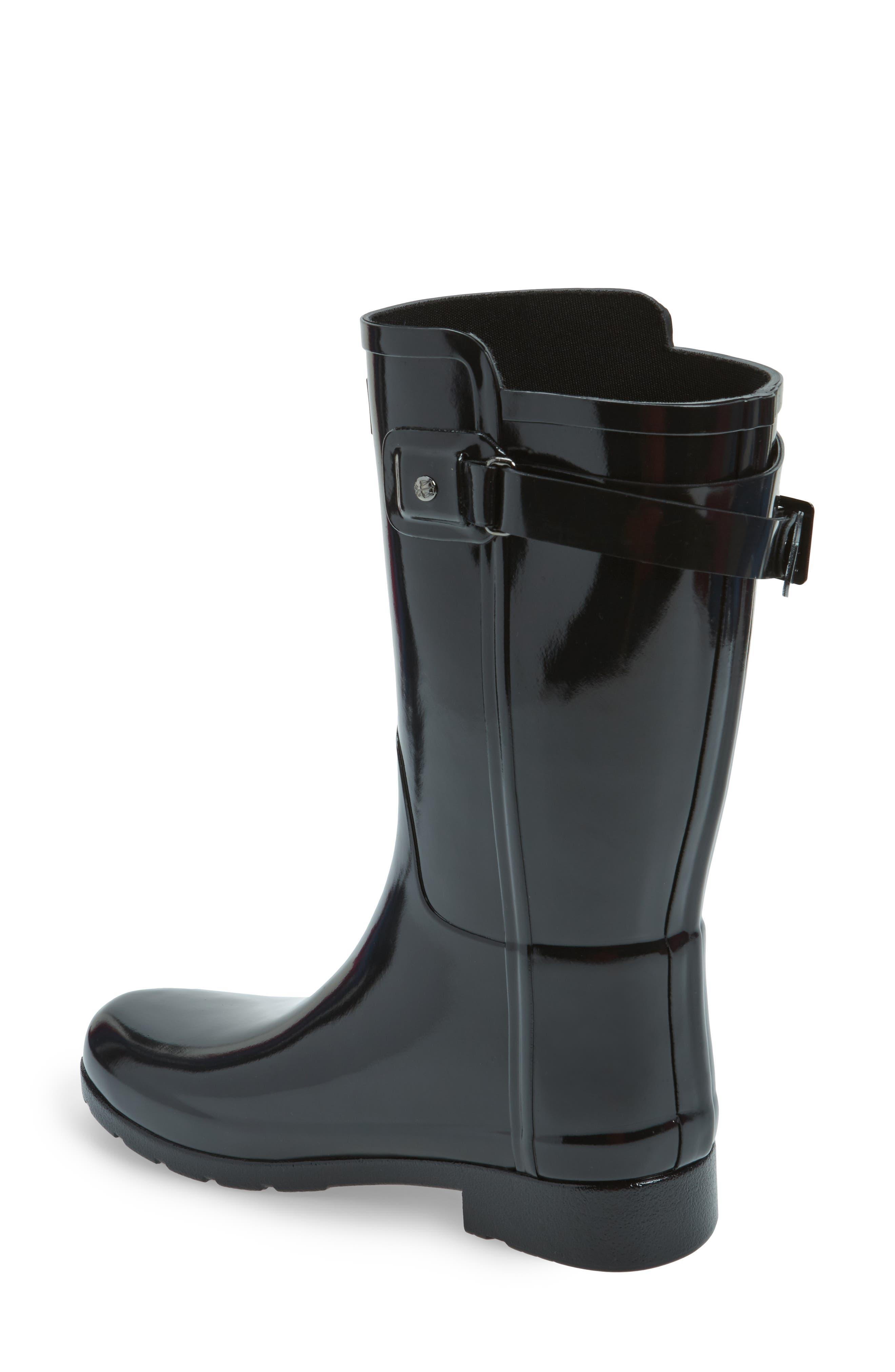 Alternate Image 2  - Hunter Original Refined Back Strap Rain Boot (Women)