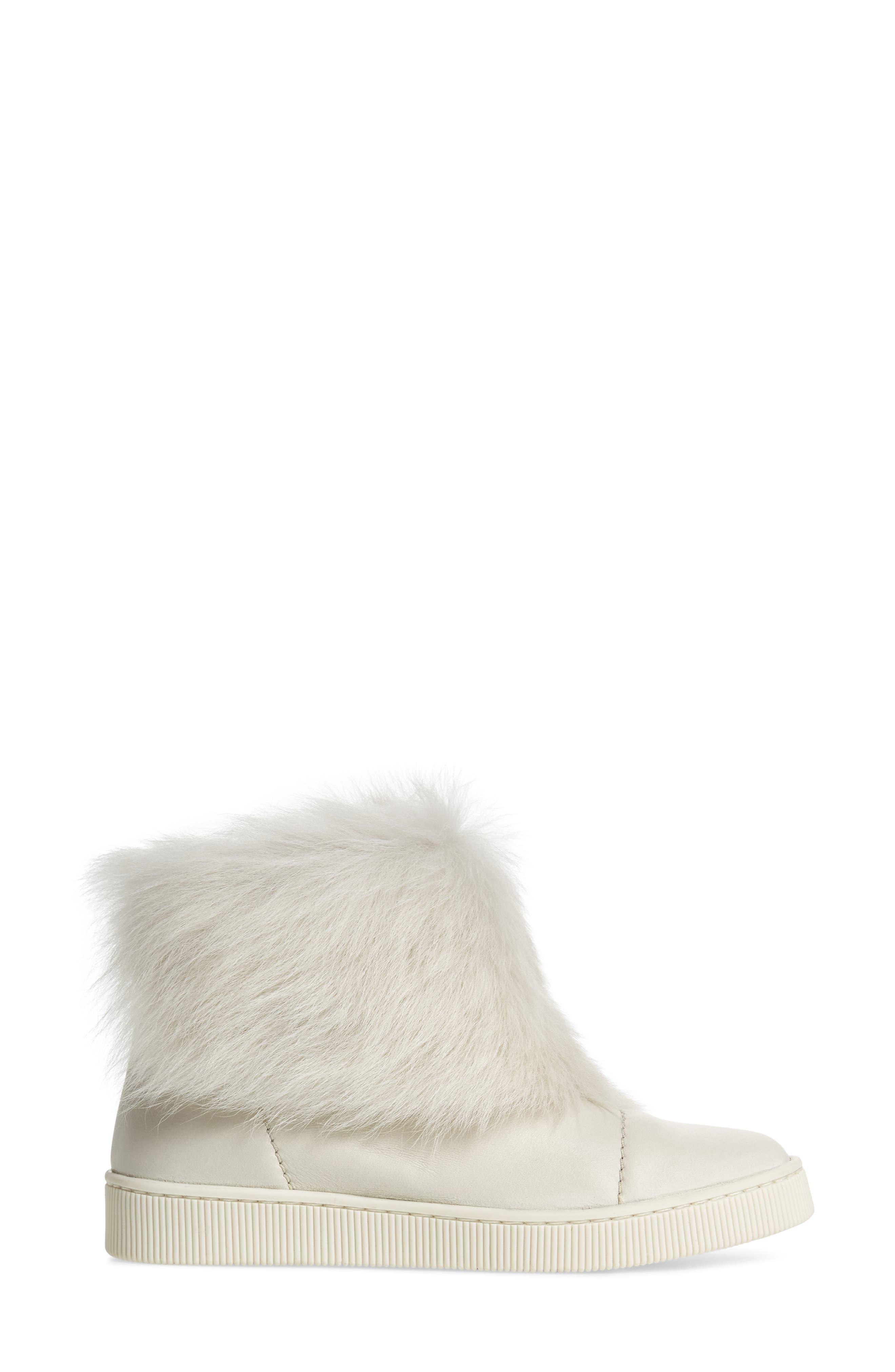 Alternate Image 4  - Pedro Garcia Priya Genuine Shearling Sneaker Boot (Women)