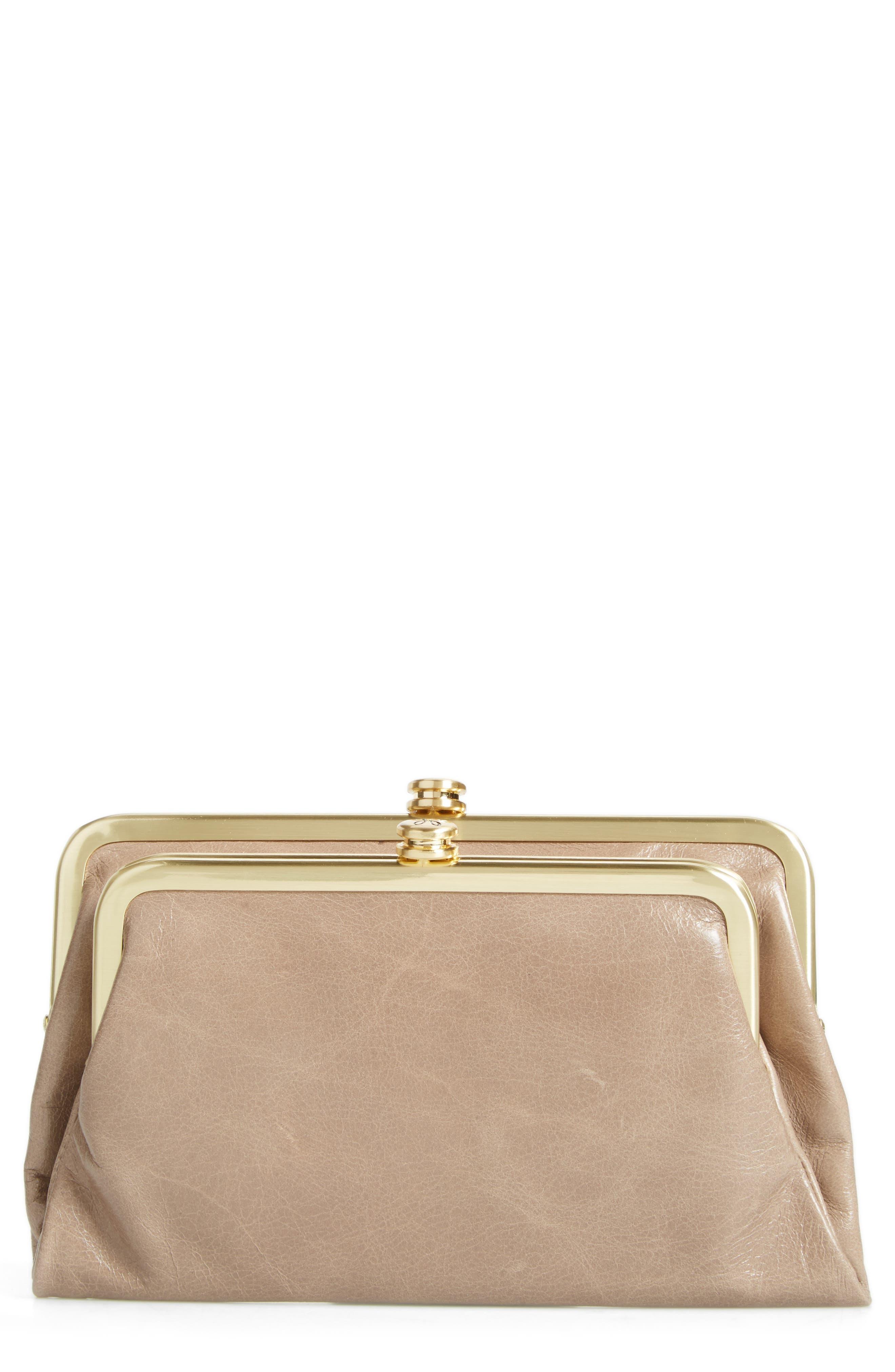Alternate Image 1 Selected - Hobo Suzette Calfskin Leather Wallet