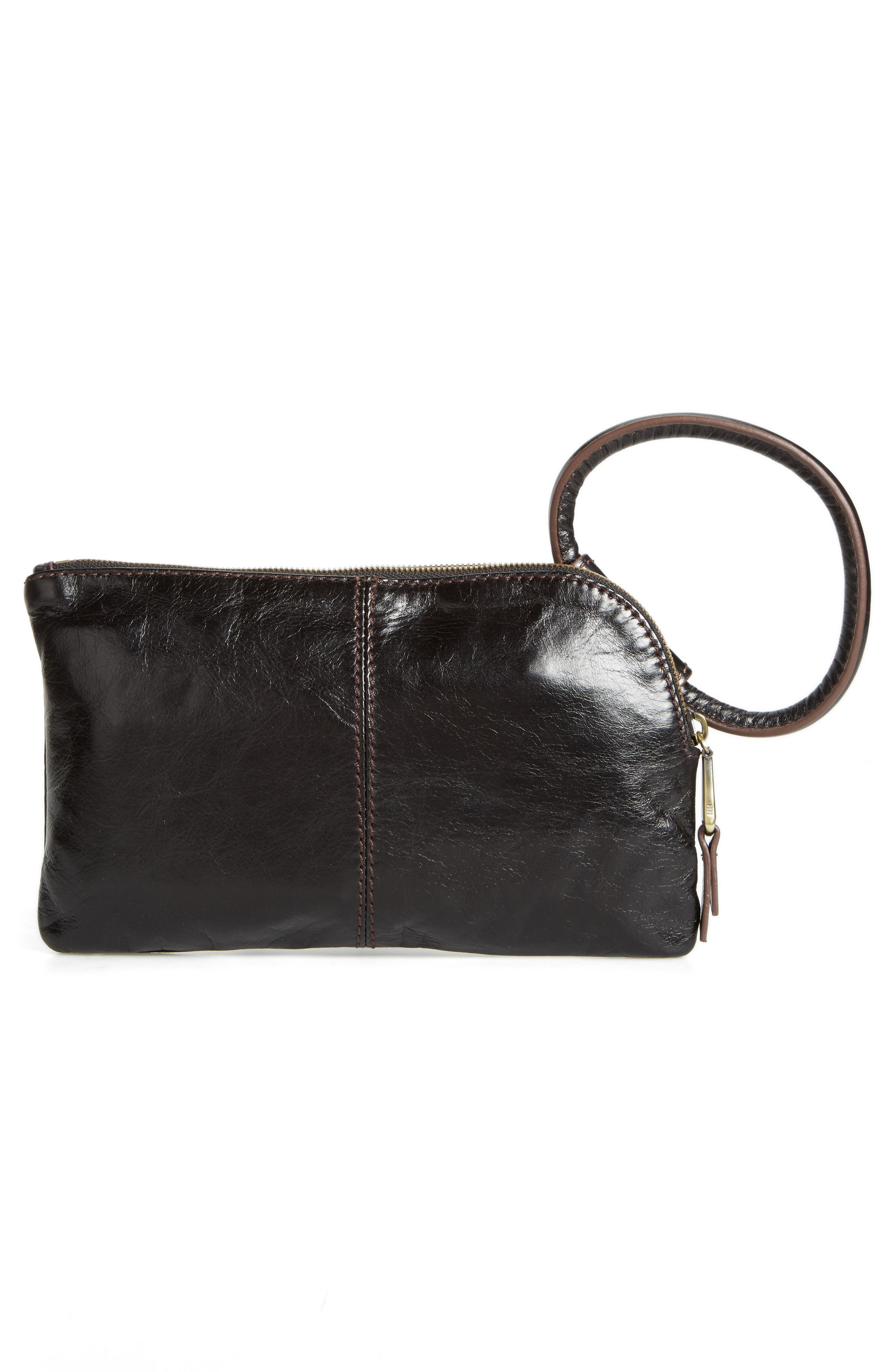 Alternate Image 2  - Hobo Sable Calfskin Leather Clutch