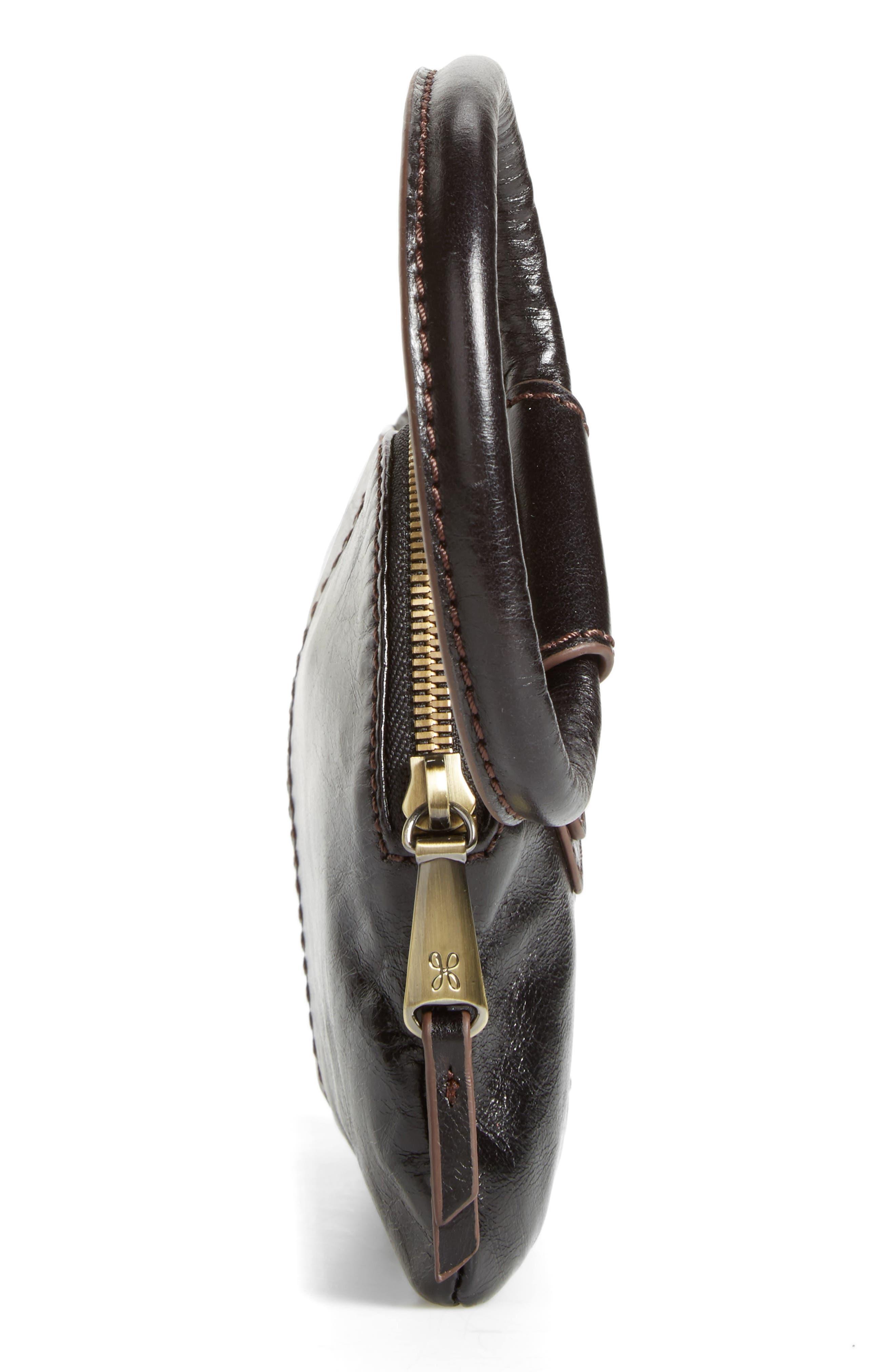 Alternate Image 4  - Hobo Sable Calfskin Leather Clutch